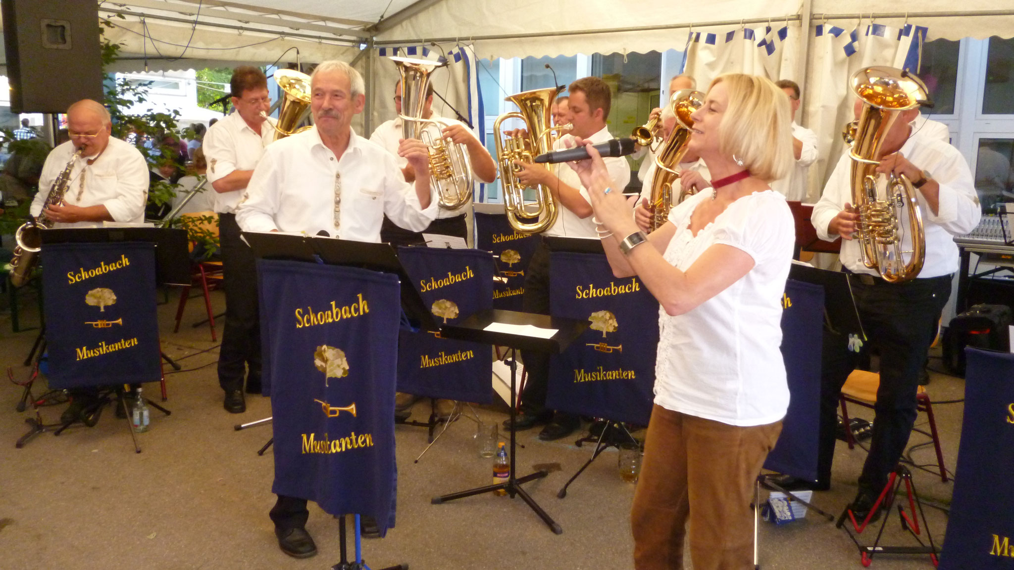 MV Steinenbronn Musikfest 01.08.2016