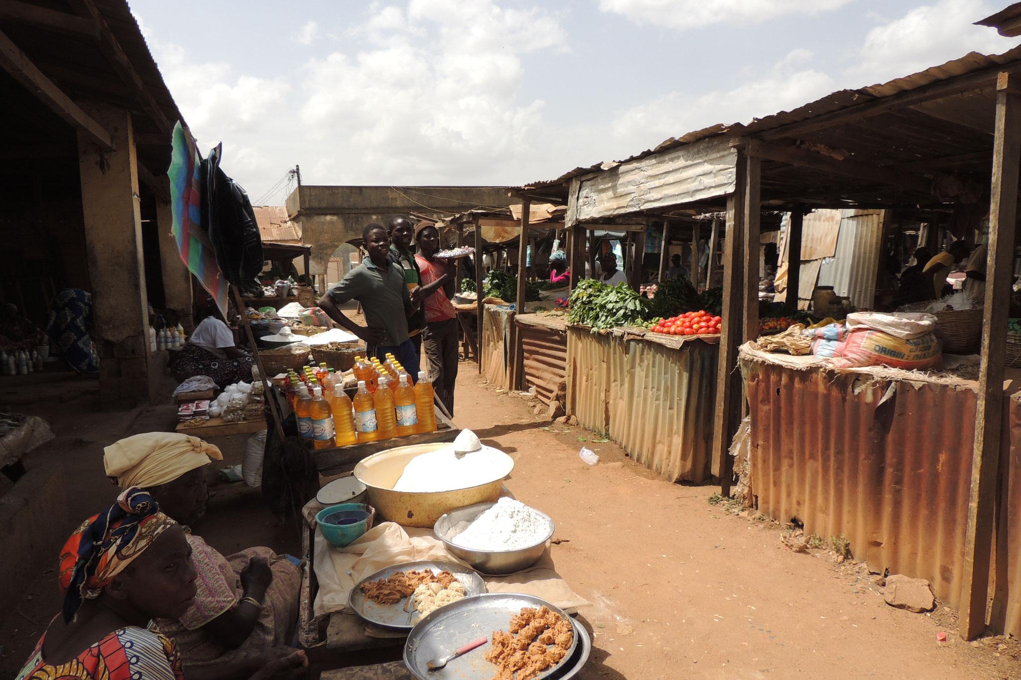 Mercado en Ngaoundere