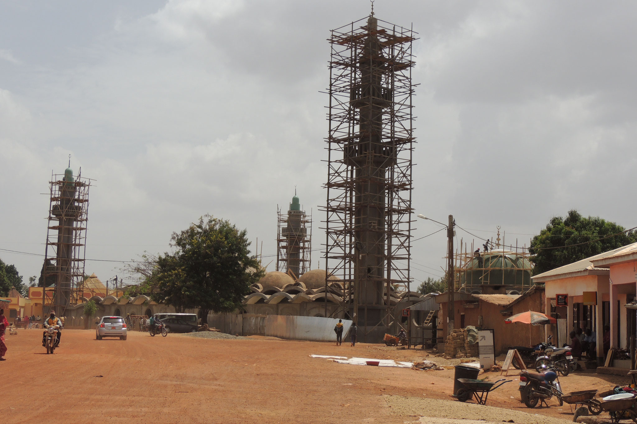 Obras en Mezquita de Ngaoundere