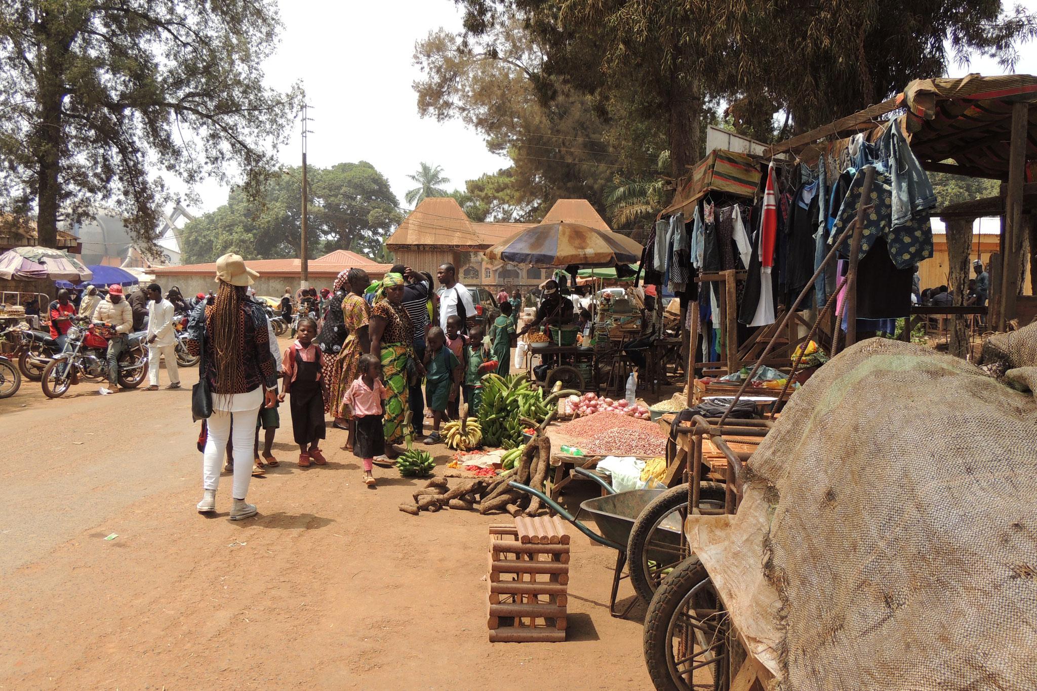 Mercado en Foumban