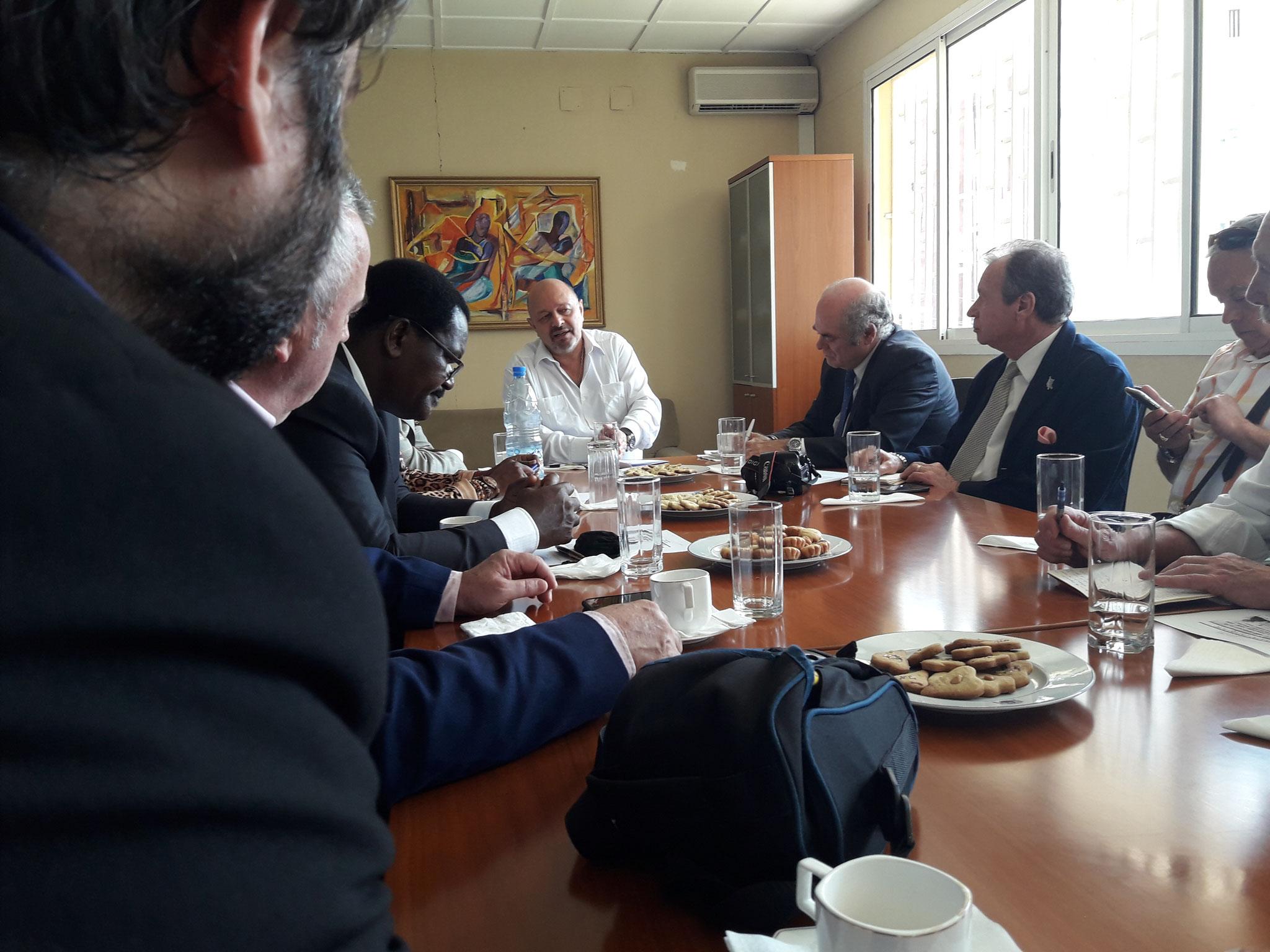 Reunion con Embajador de España