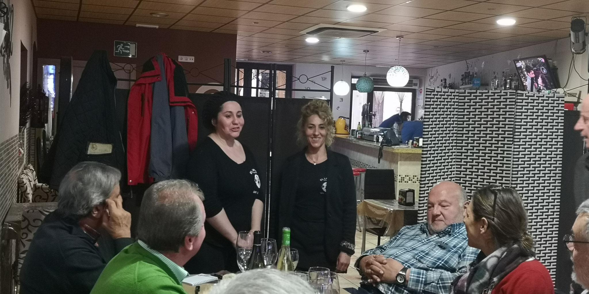Sonia y Lorena de El Lagar