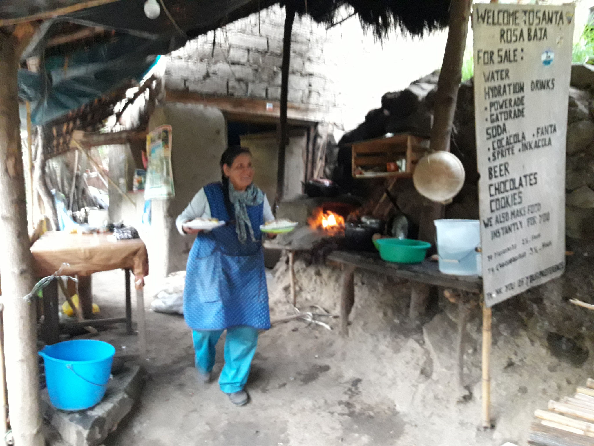 Cocina de Caserio Santa Rosa