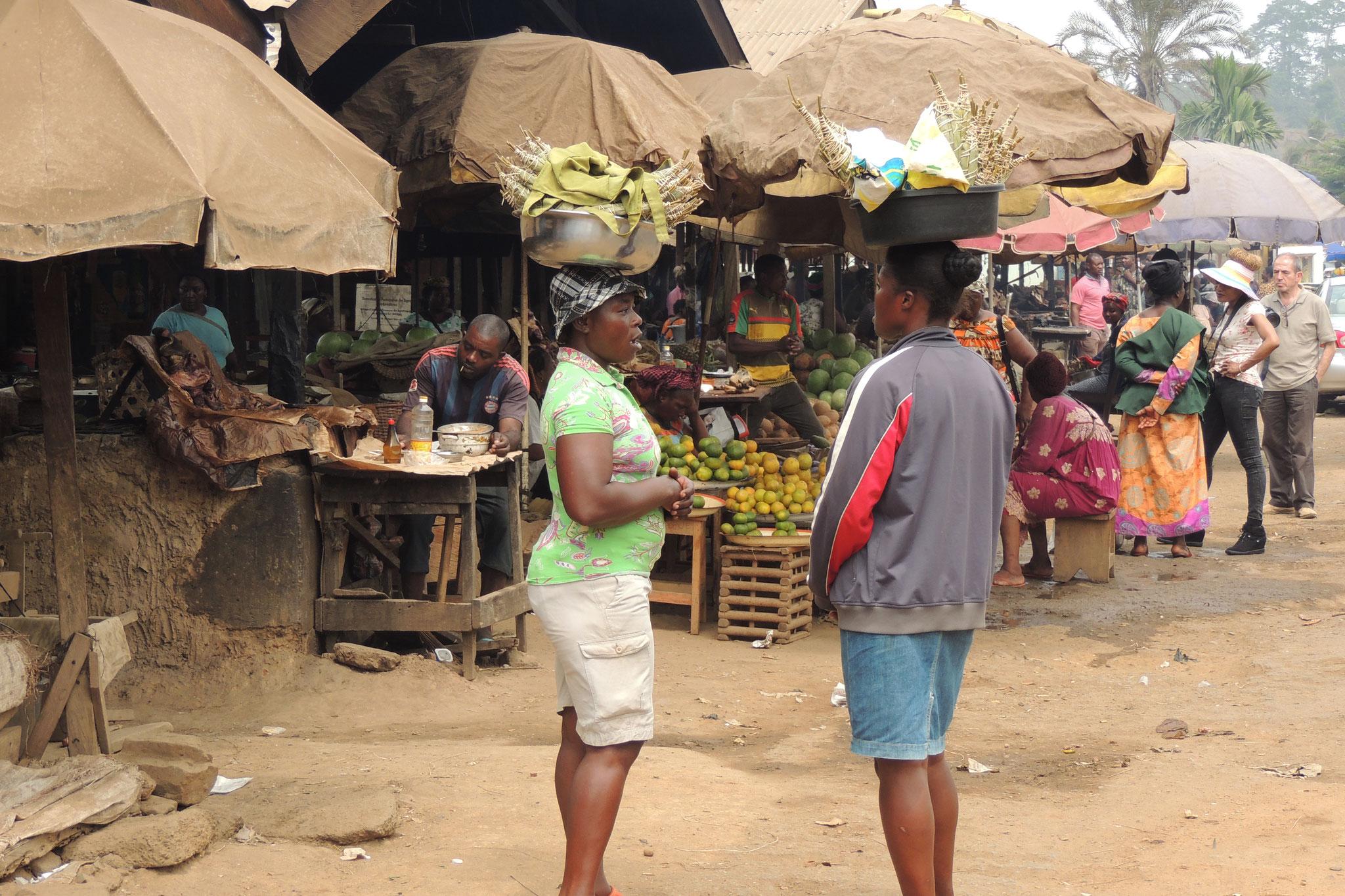 Un animado mercado