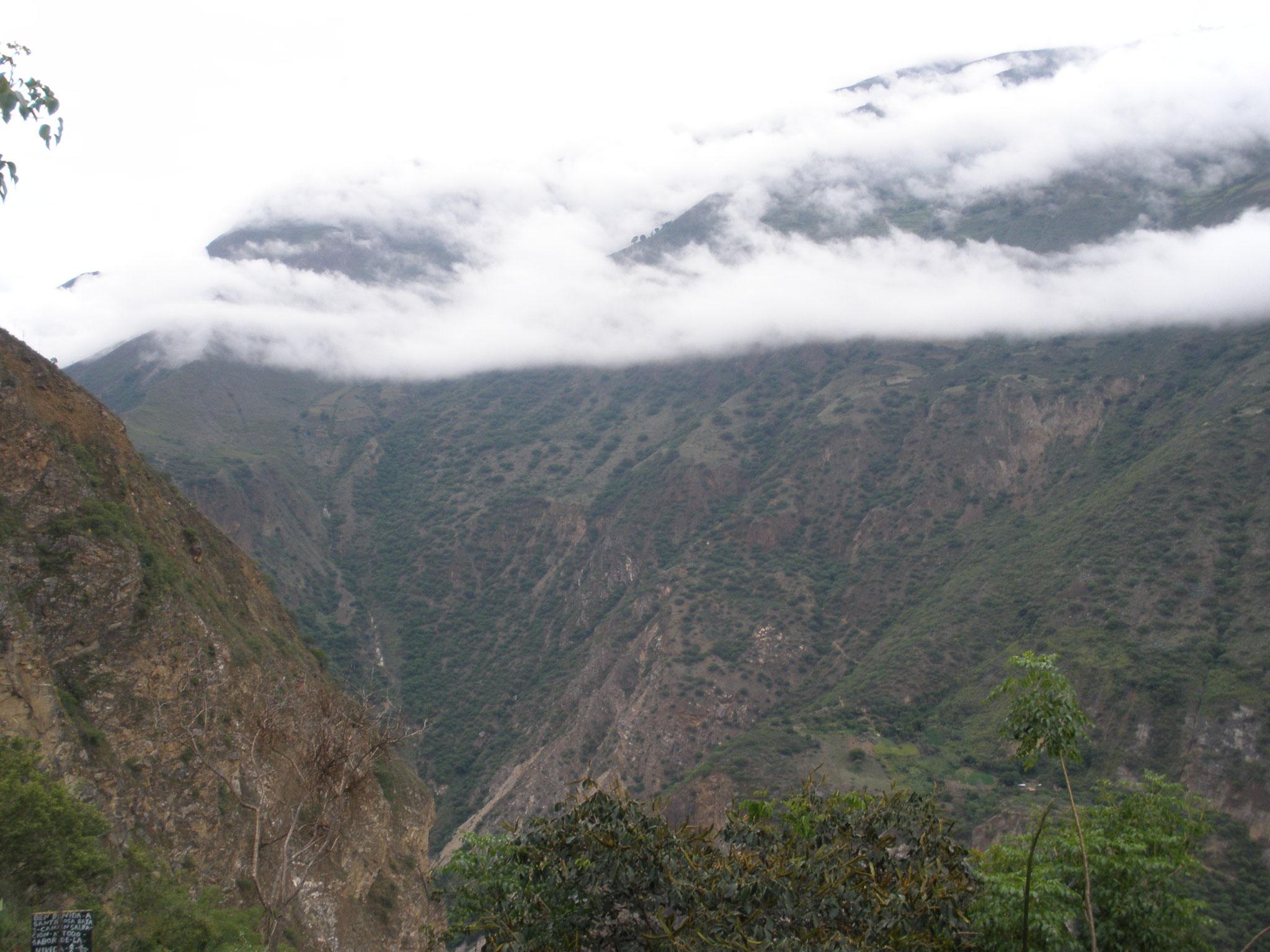 Nubes en Choquiquerao