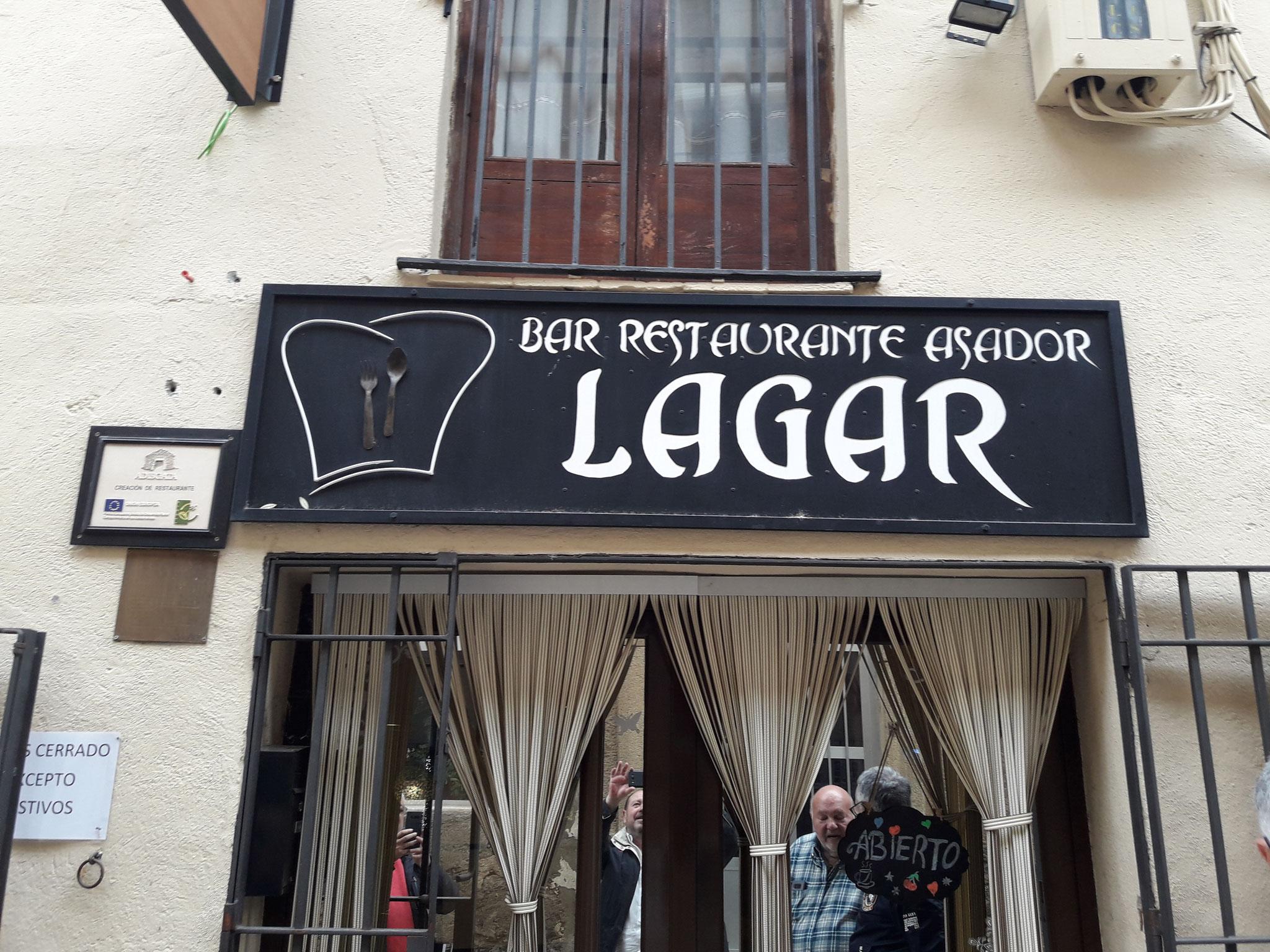 Fachada de El Lagar
