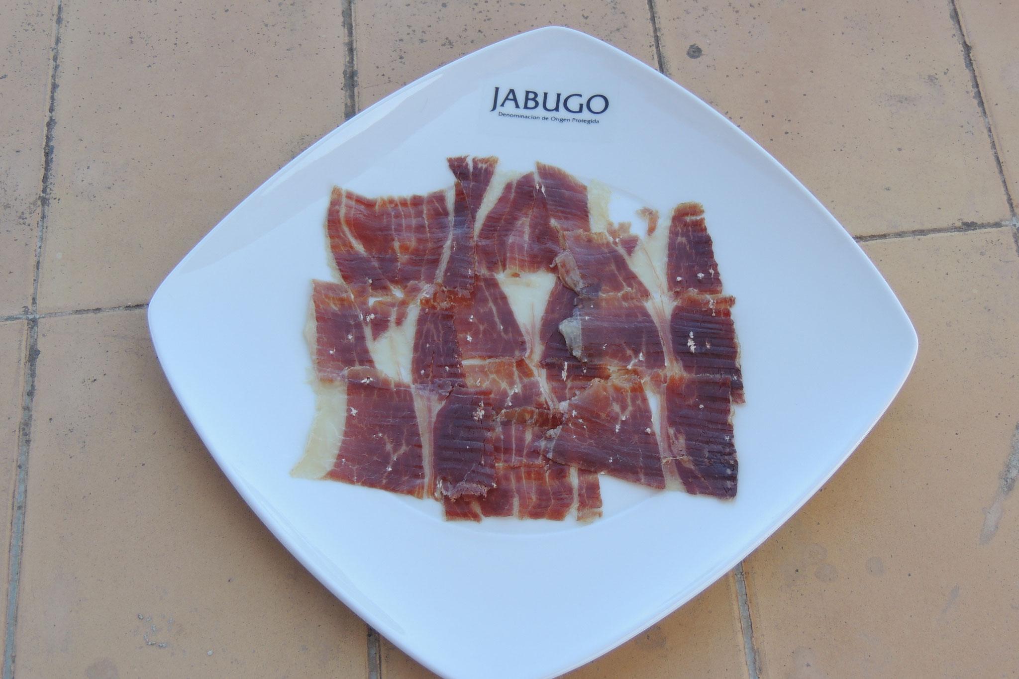 Plato de Jamón Ibérico de Jabugo