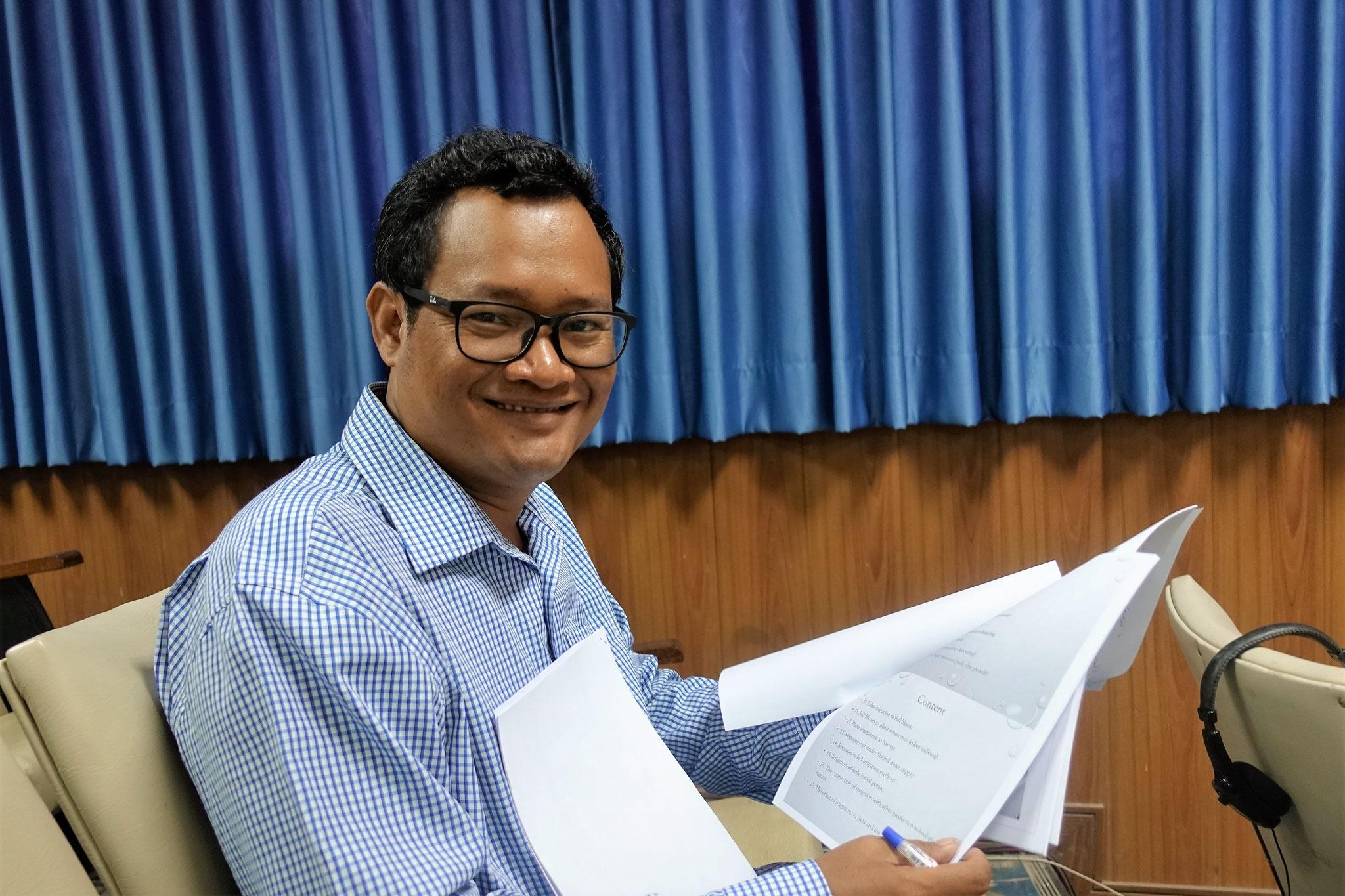 Neth Prak, Gründer von BIPA (Bunong Indigenous People's Association)
