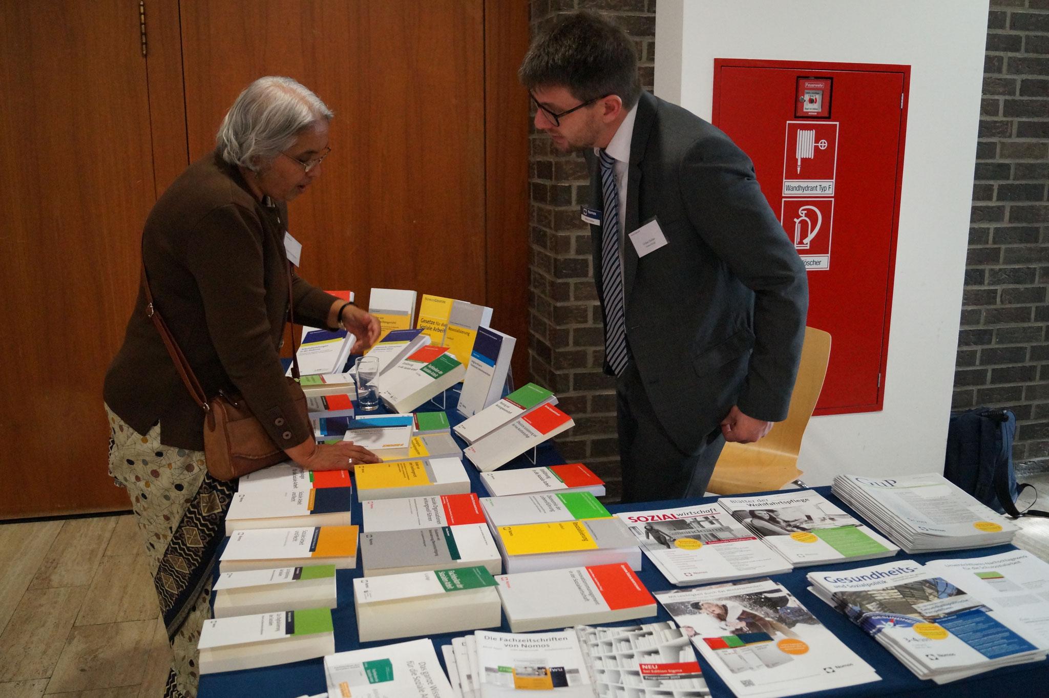 NOMOS Verlag als Medienpartner des Social Talk 2017 © Sabine Schlitt, EKKW
