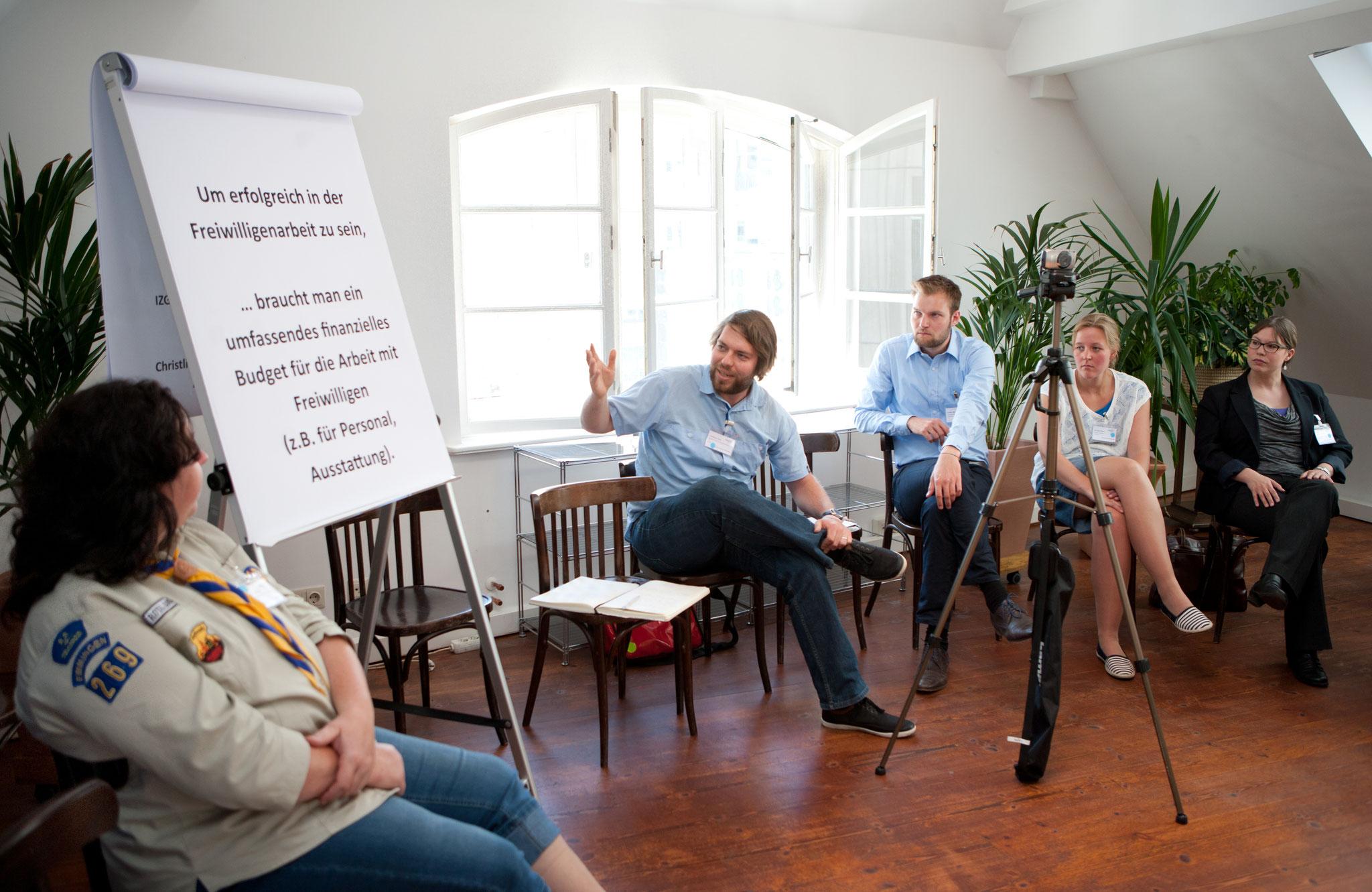Nach welcher Logik ticken die Jugendorganisationen? © Bertelsmann Stiftung