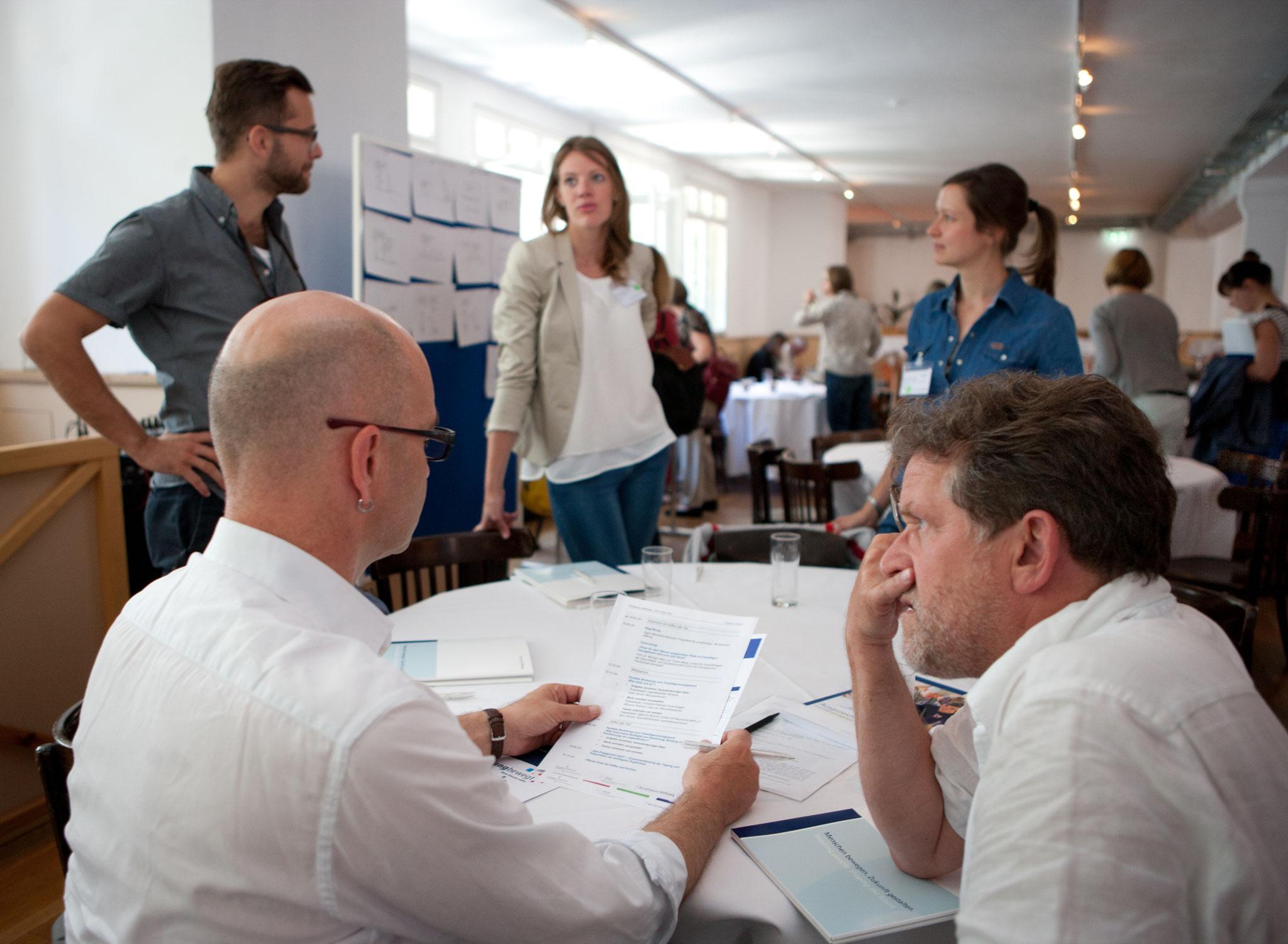 Zeit zur Diskussion und Austausch © Bertelsmann Stiftung