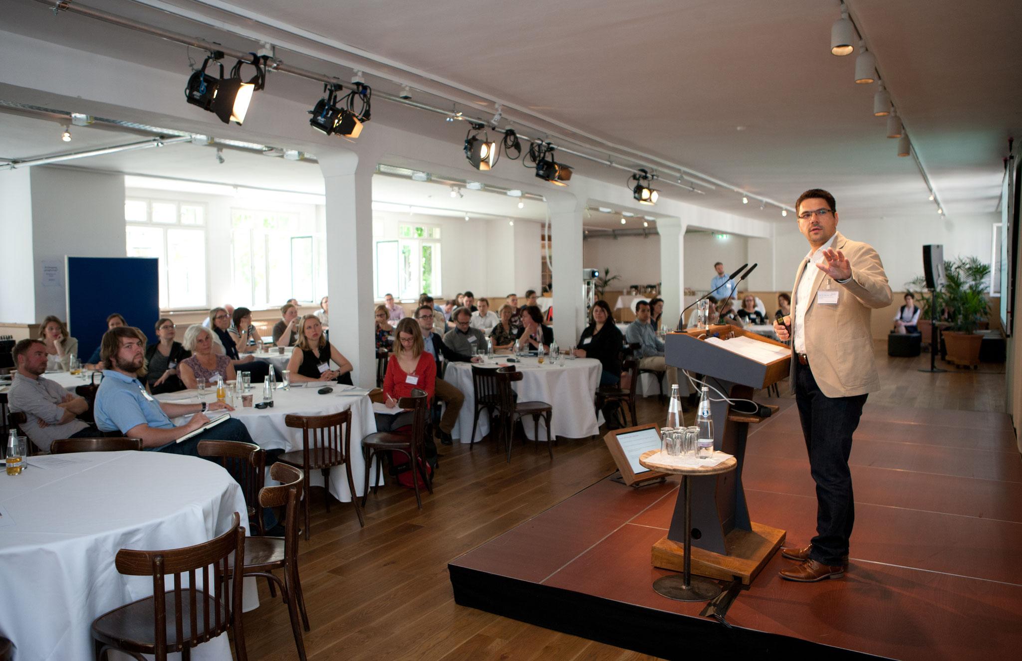Keynote von Prof. Dr. Michael Vilain (IZGS der EHD) © Bertelsmann Stiftung
