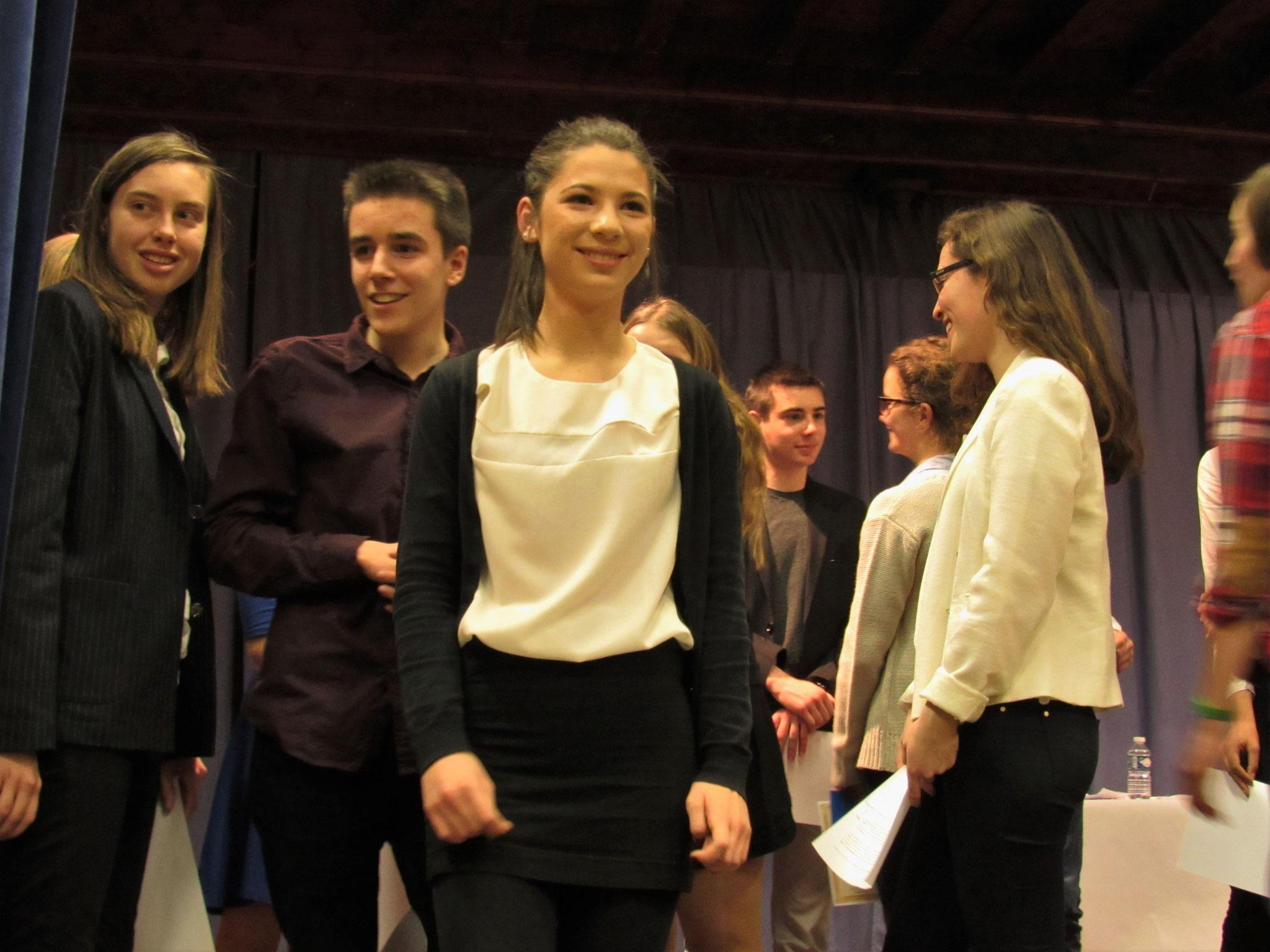 L'équipe organisatrice : Etienne, Léa et Aurélie