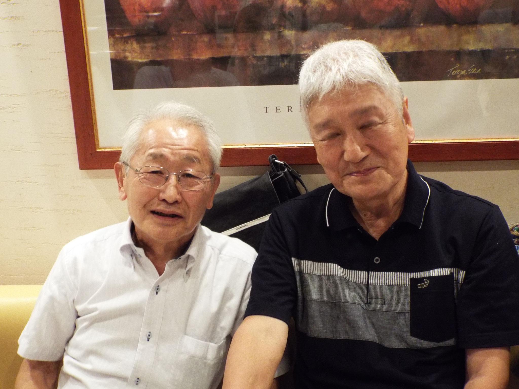 和田さんと今日のプロデュウサー今井さんお疲れさま
