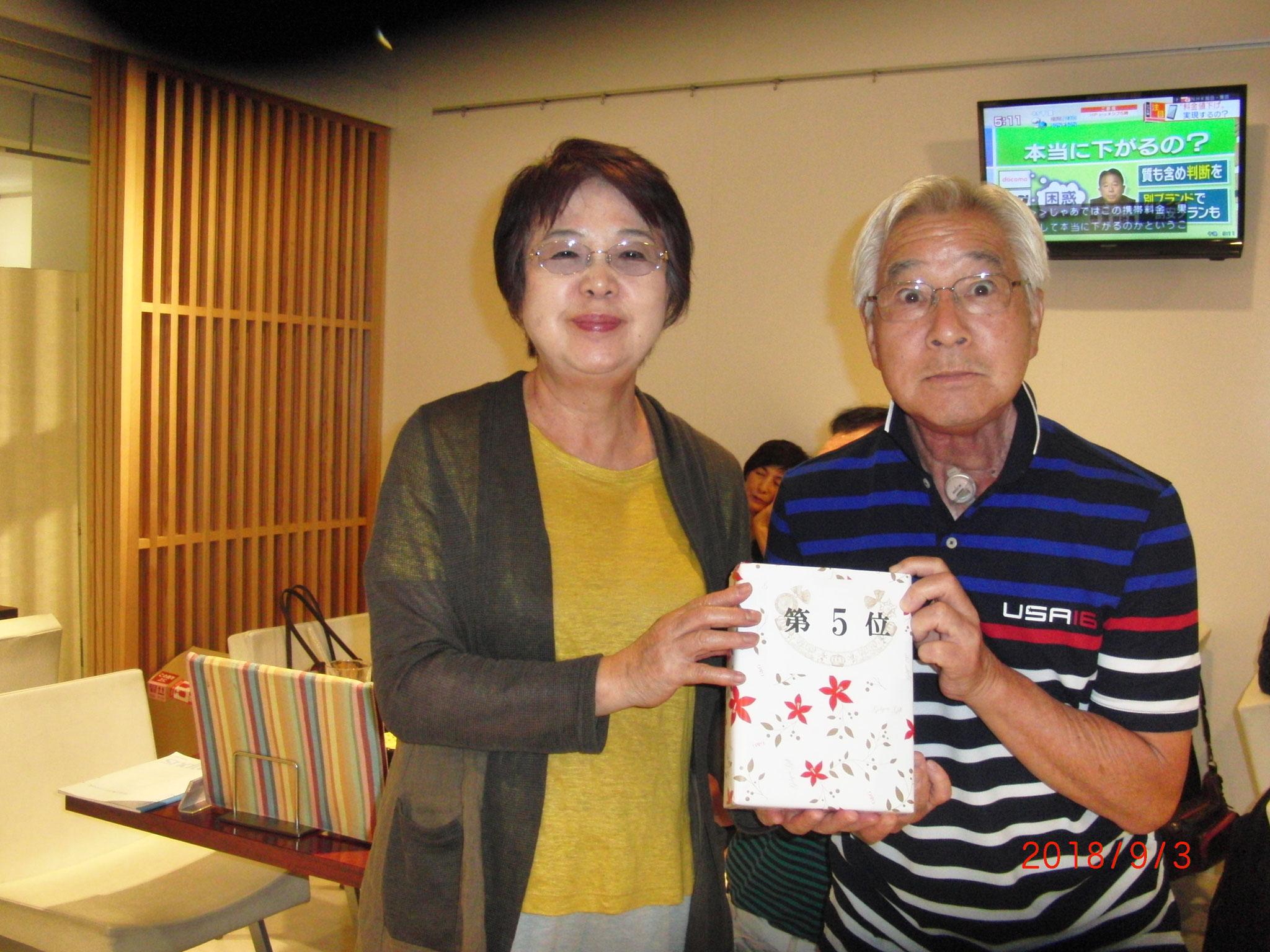 江ノ島杯の5位 : 加納善夫