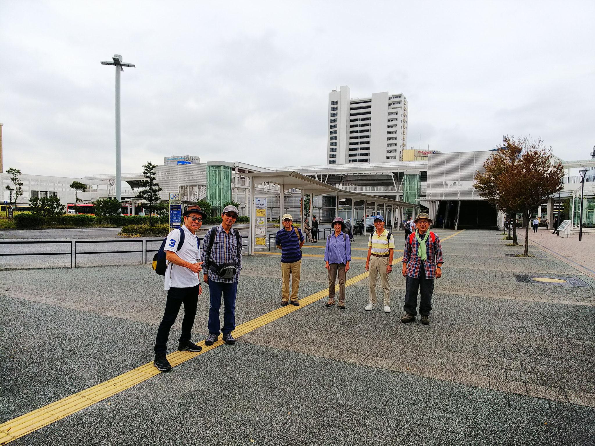 JR辻堂駅北口広場