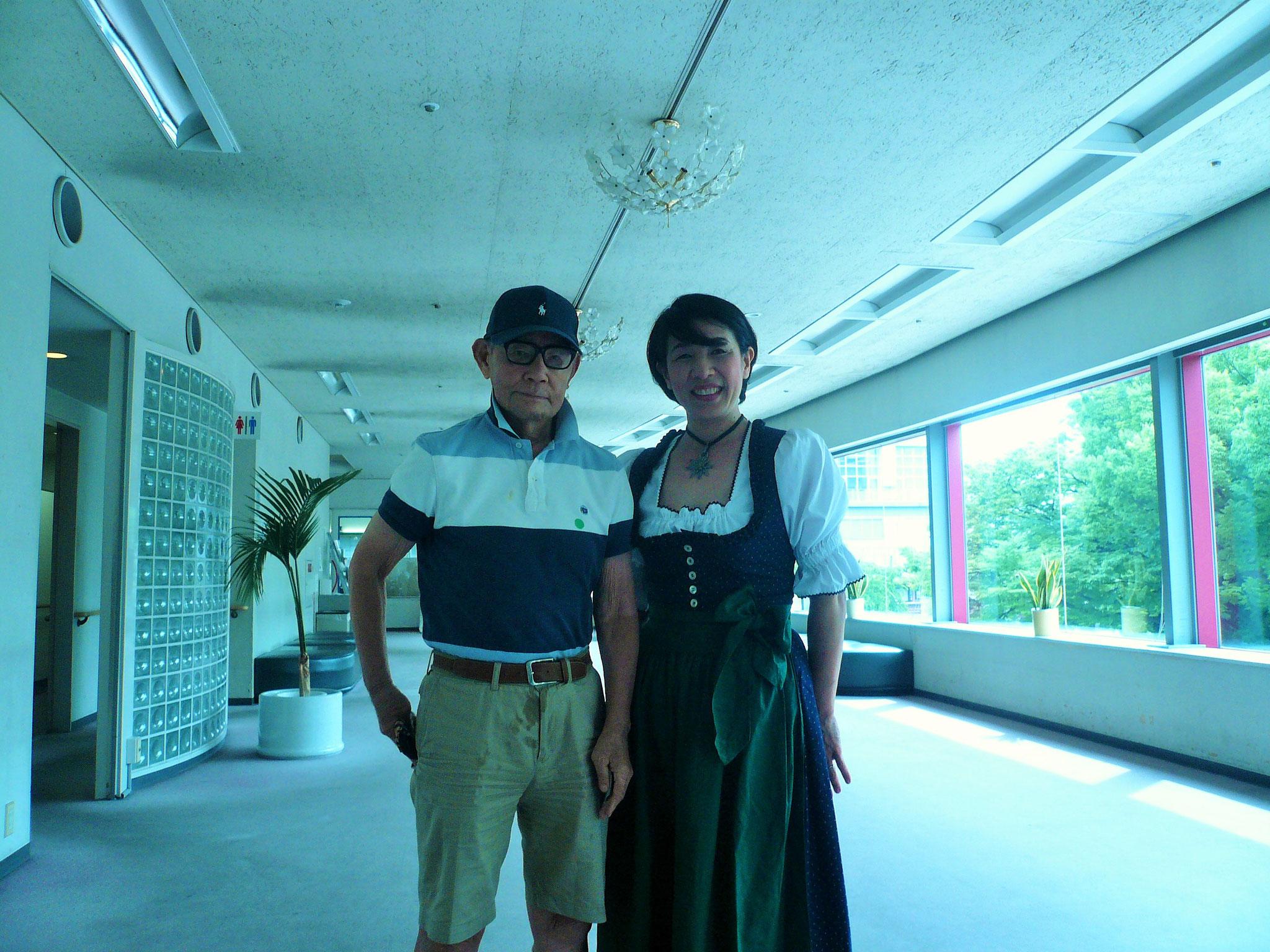 思えば5年前大庫先輩(S32)の紹介で入会された本日の主役伊藤啓子さん