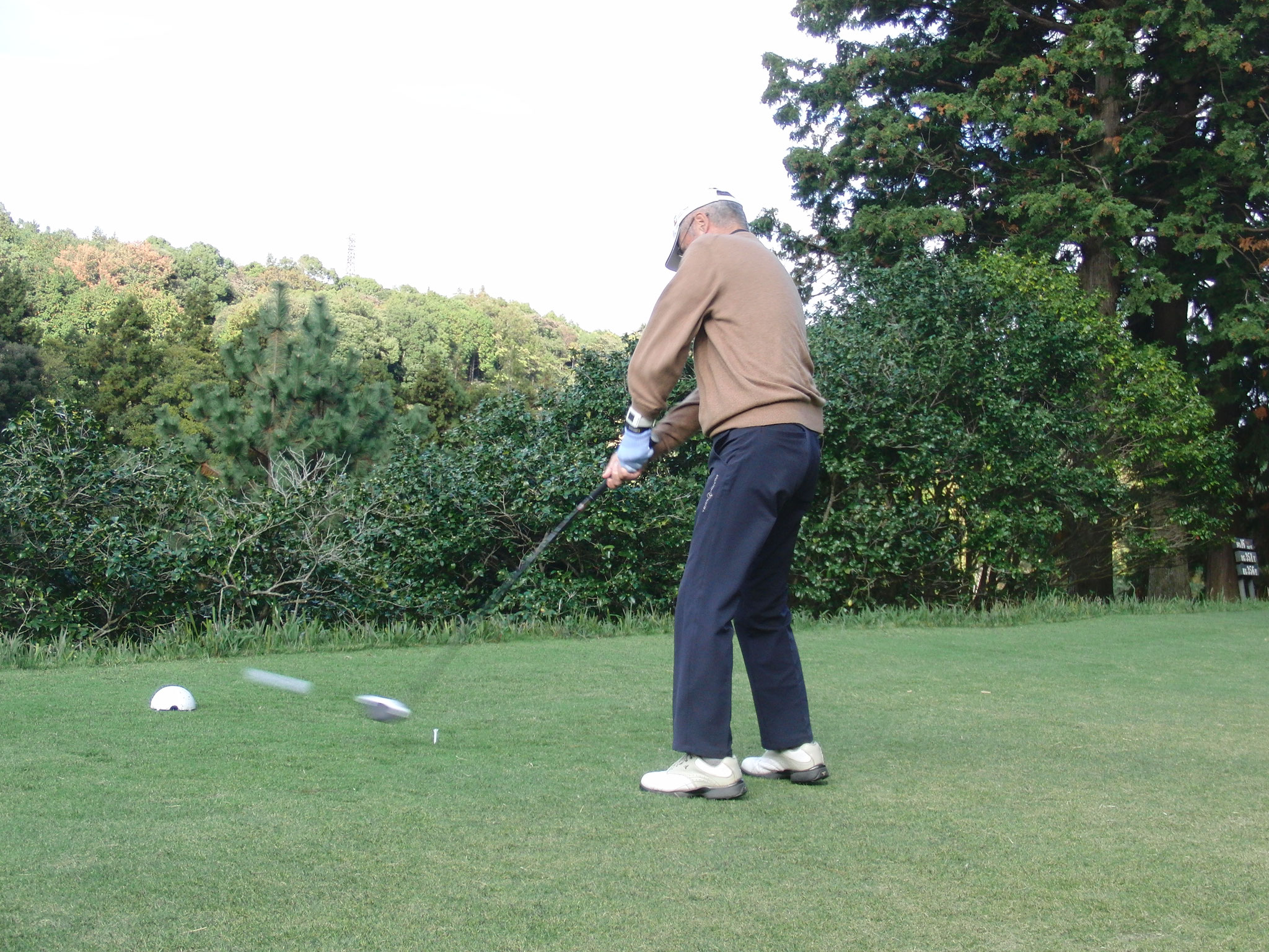正確なゴルフの 小林捷二。