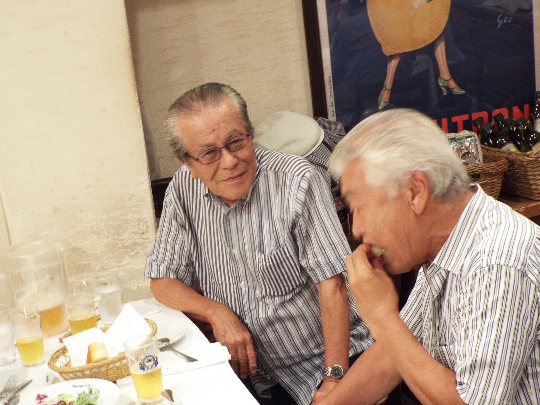 ノルディックの石川さんと坂本さん