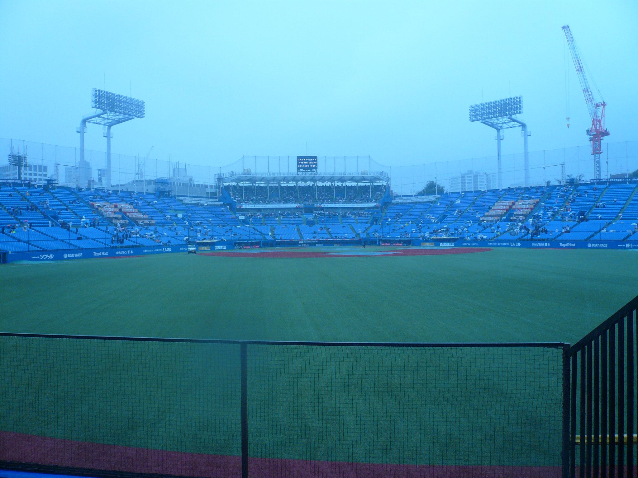 激しく降る雨