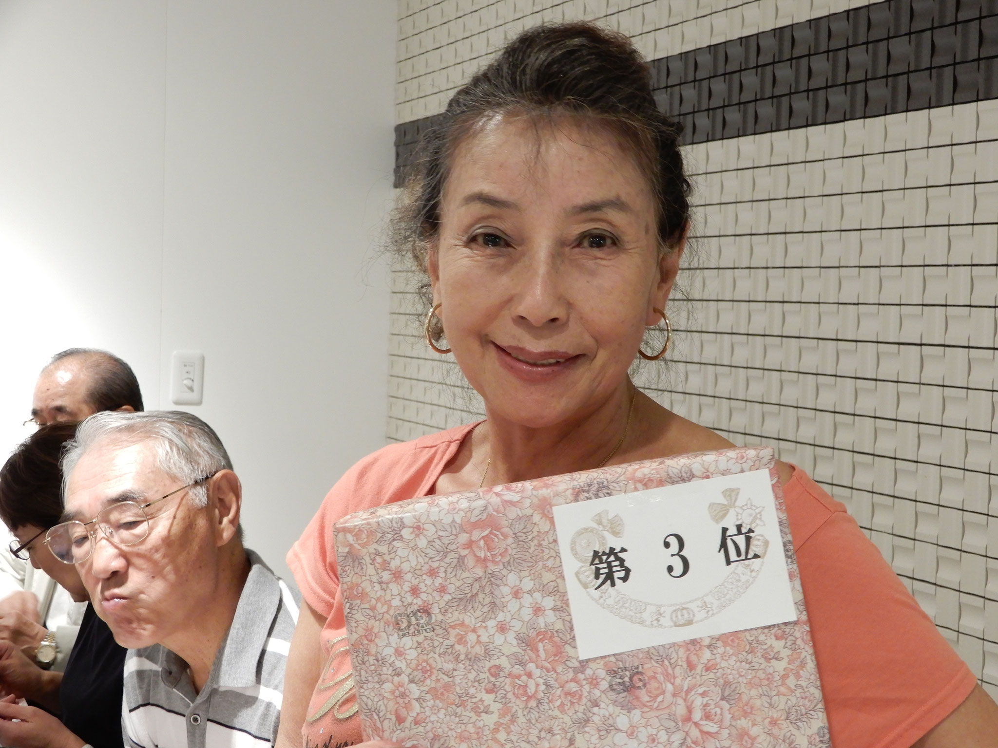 3位: <小宮幸恵> 前会長の実力発揮か?