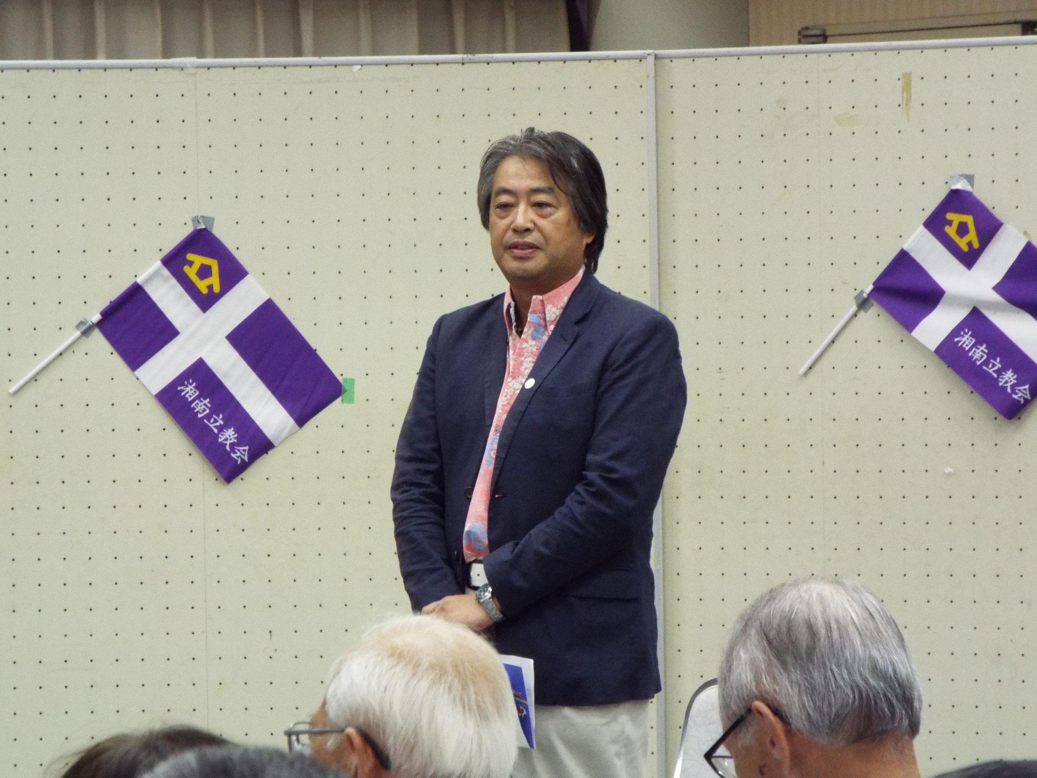 磯部さんの司会で始まる。伊藤さん大口さんの経緯等上手に聞き出す