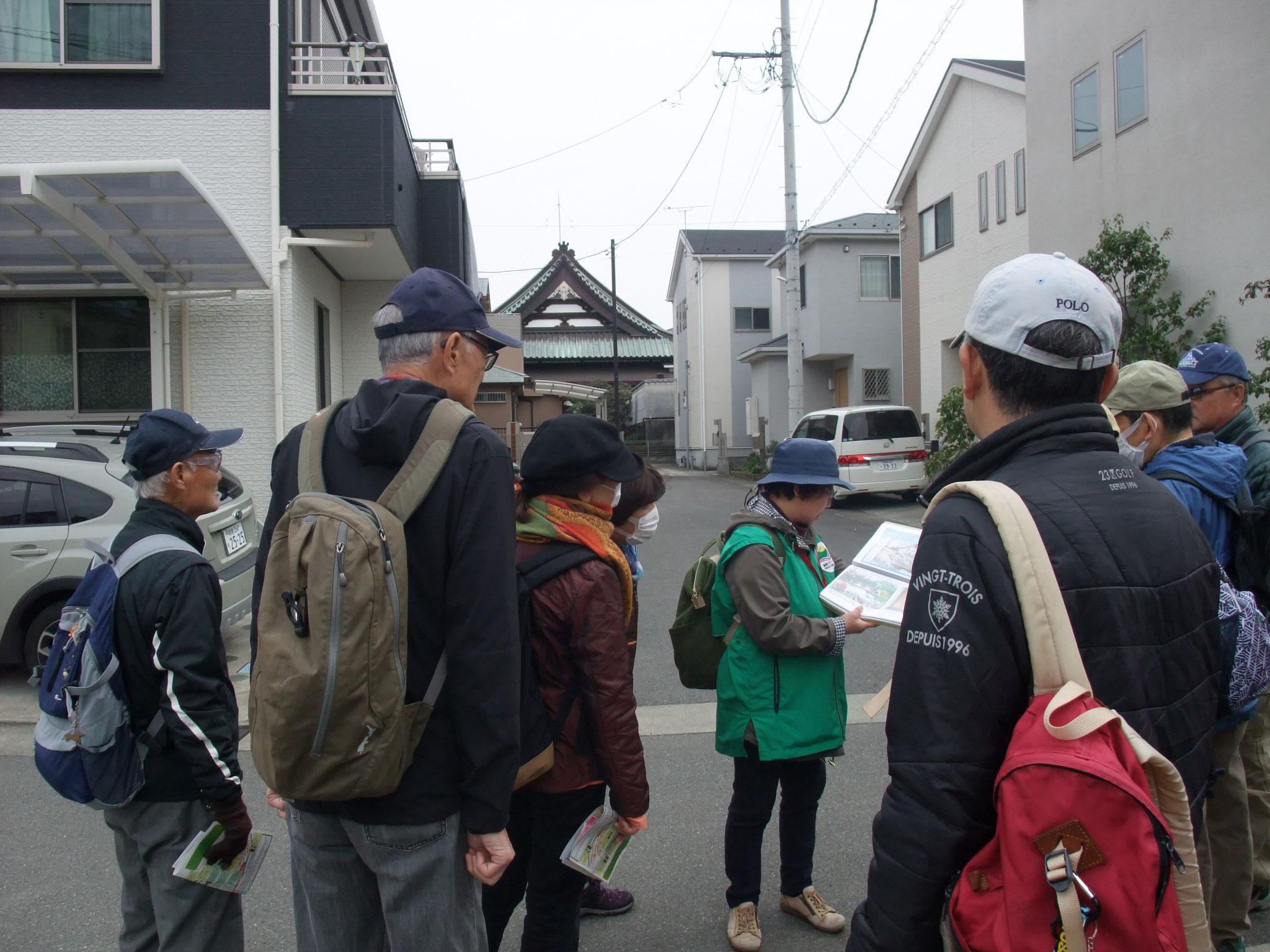 この辺りに大鳥圭介の最初の別荘があったが台風高潮で倒壊