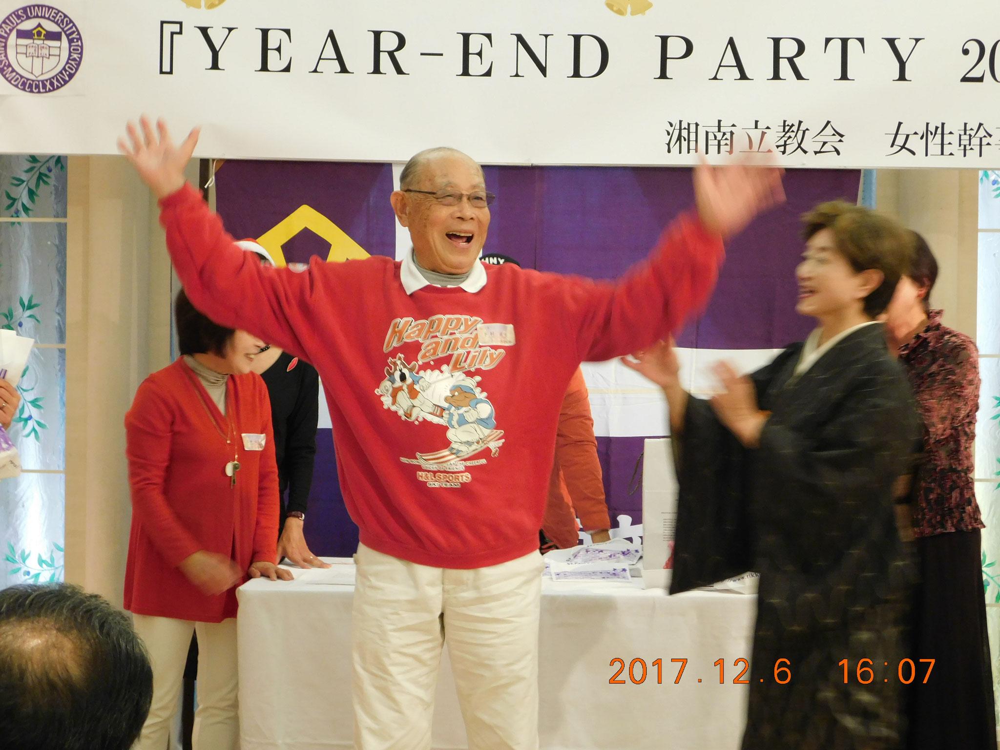 ベストレッド賞のひとり、下村さん