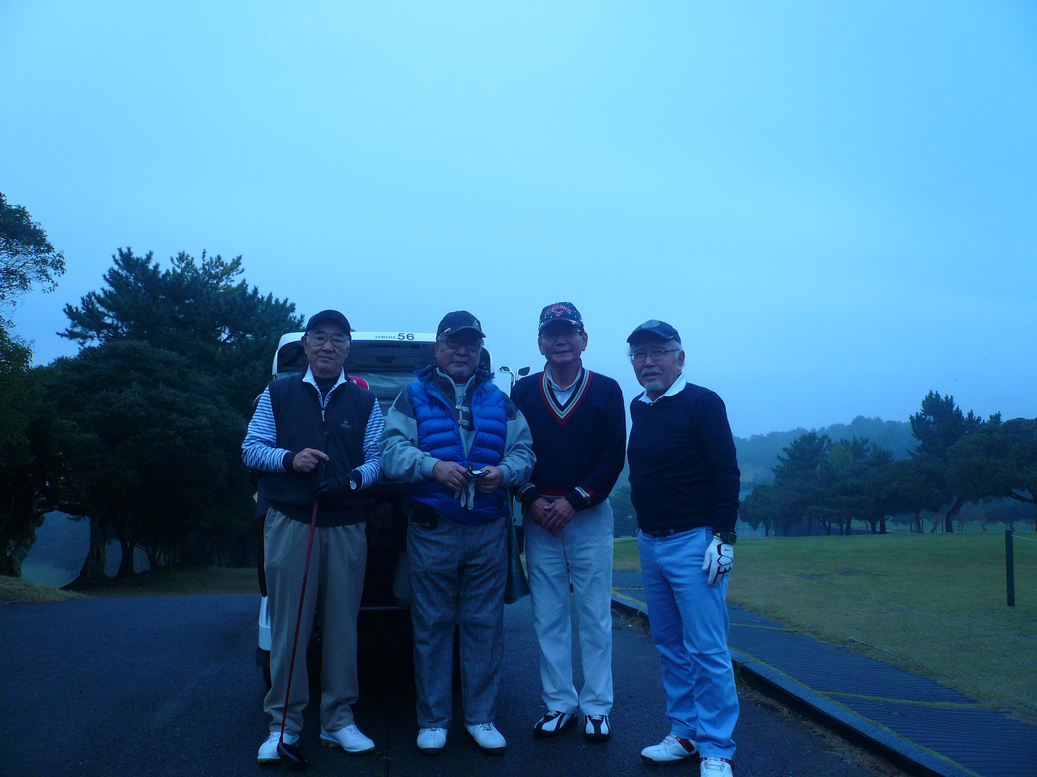1組は則田、佐藤、大島、田中雅さん