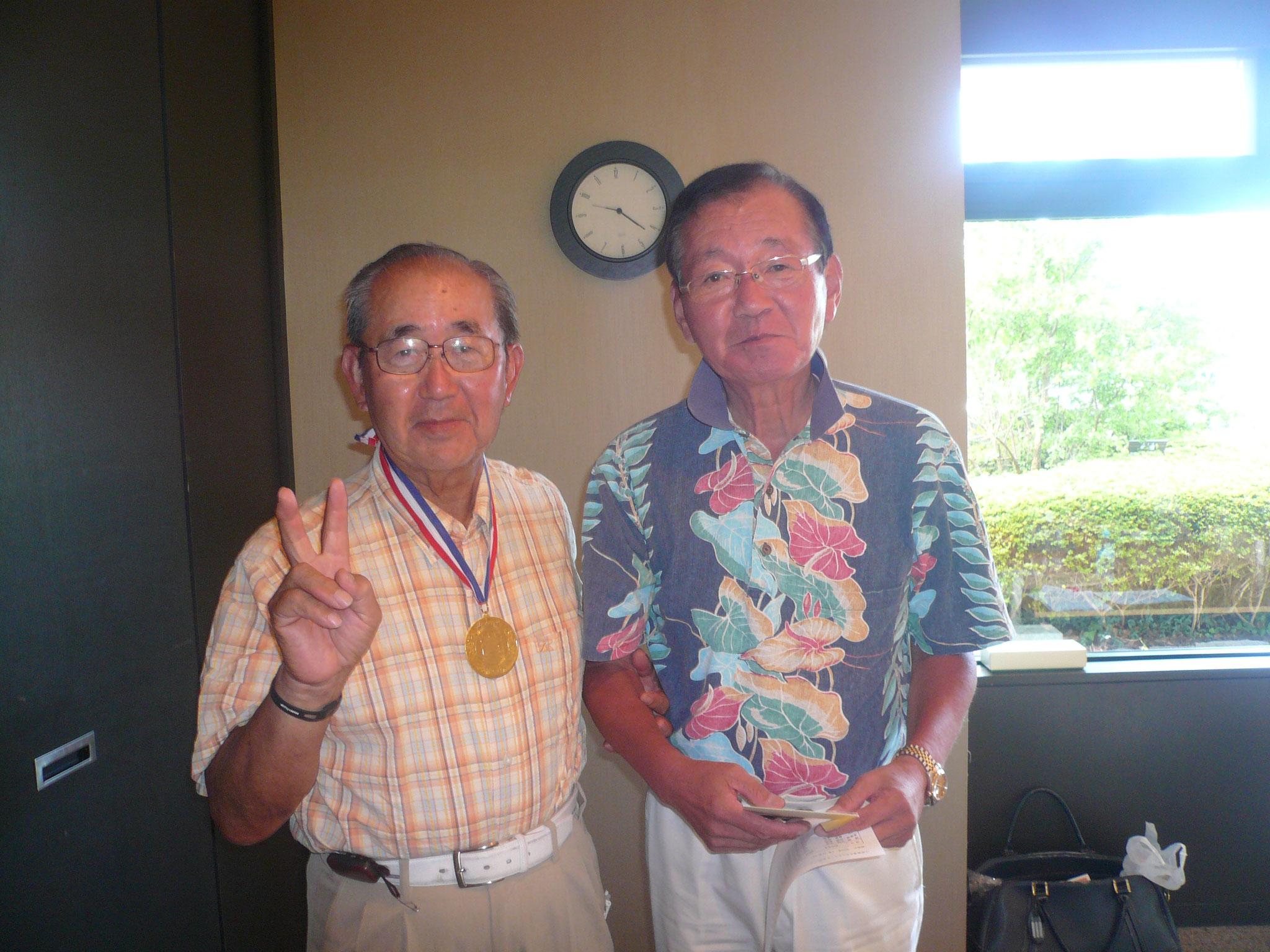 優勝山崎さんと大島さん