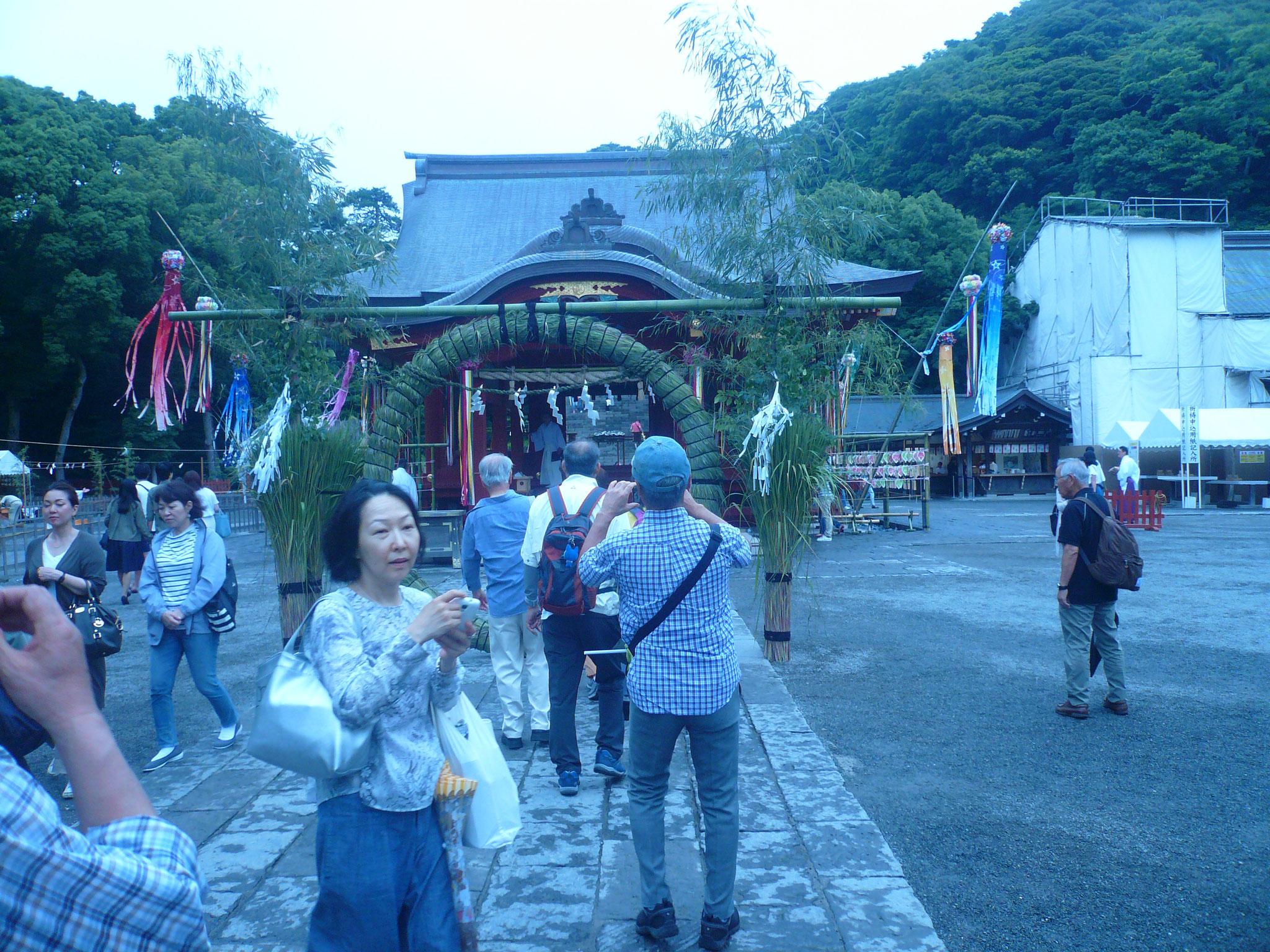 鶴岡八幡宮6月30日と12月31日年2回の大祓い式と聞き急きょ八幡宮へ