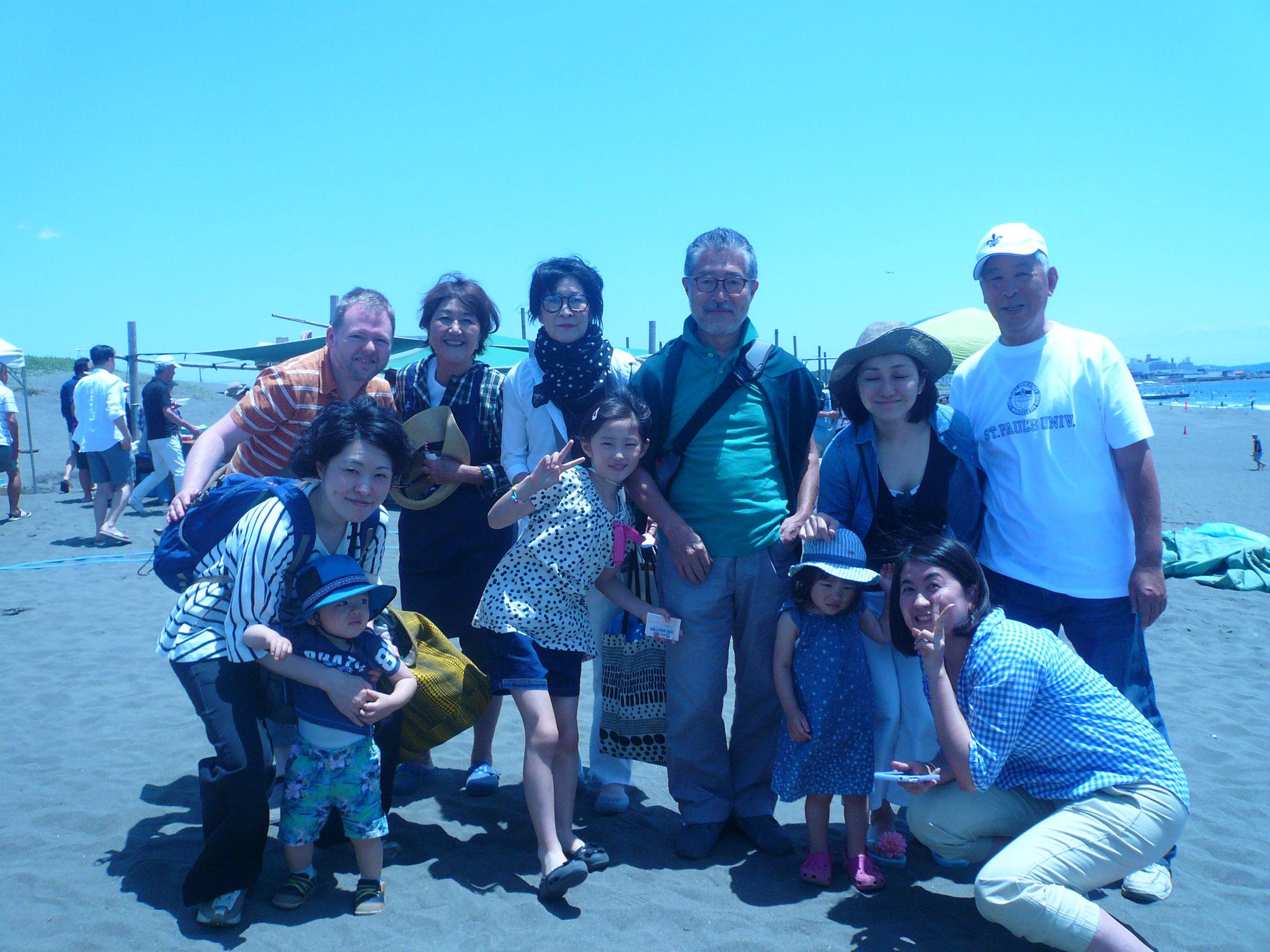 小田急線事故で大変でした。小寺さんグループ到着