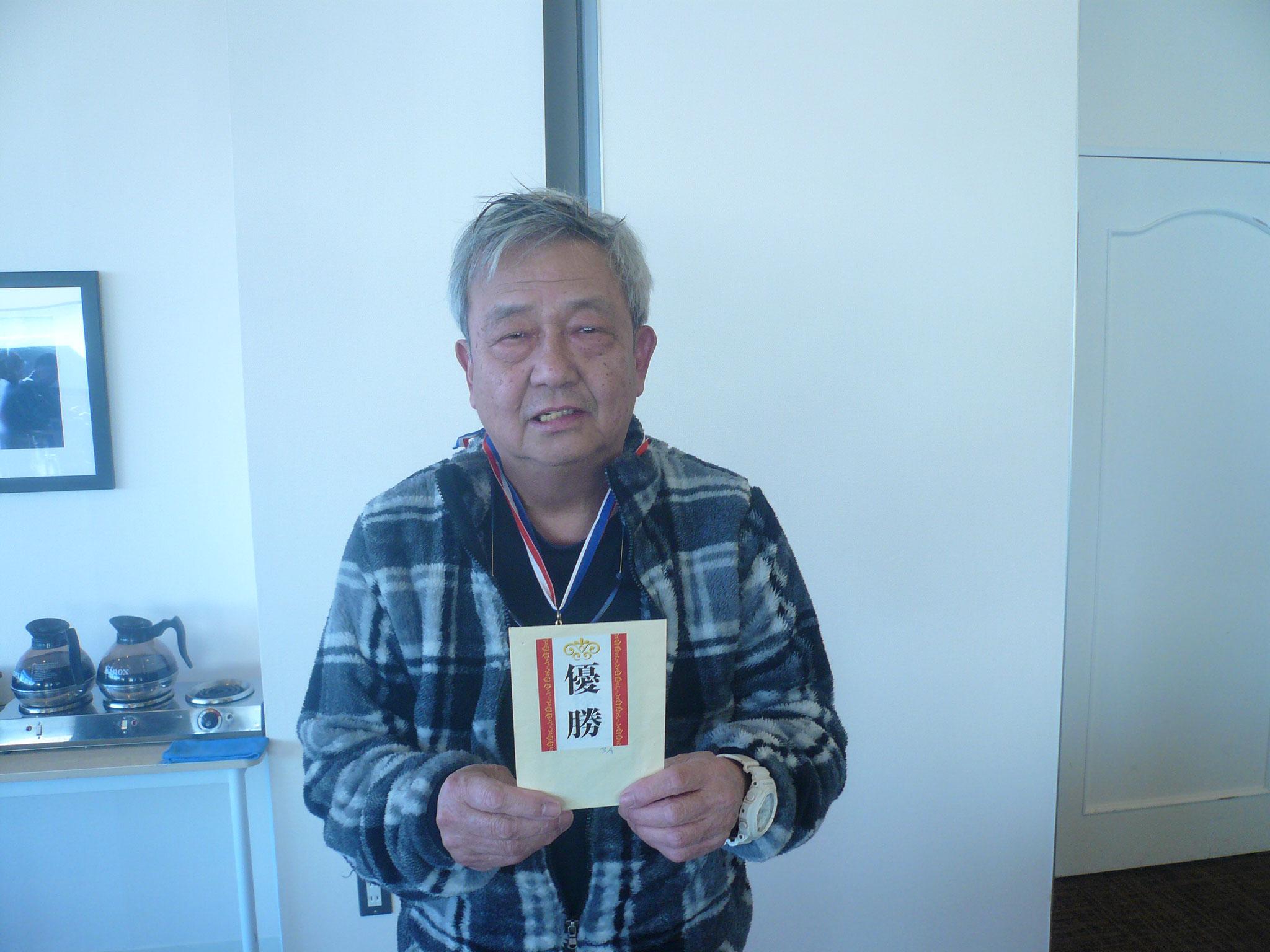 優勝柿沢さんおめでとうございます