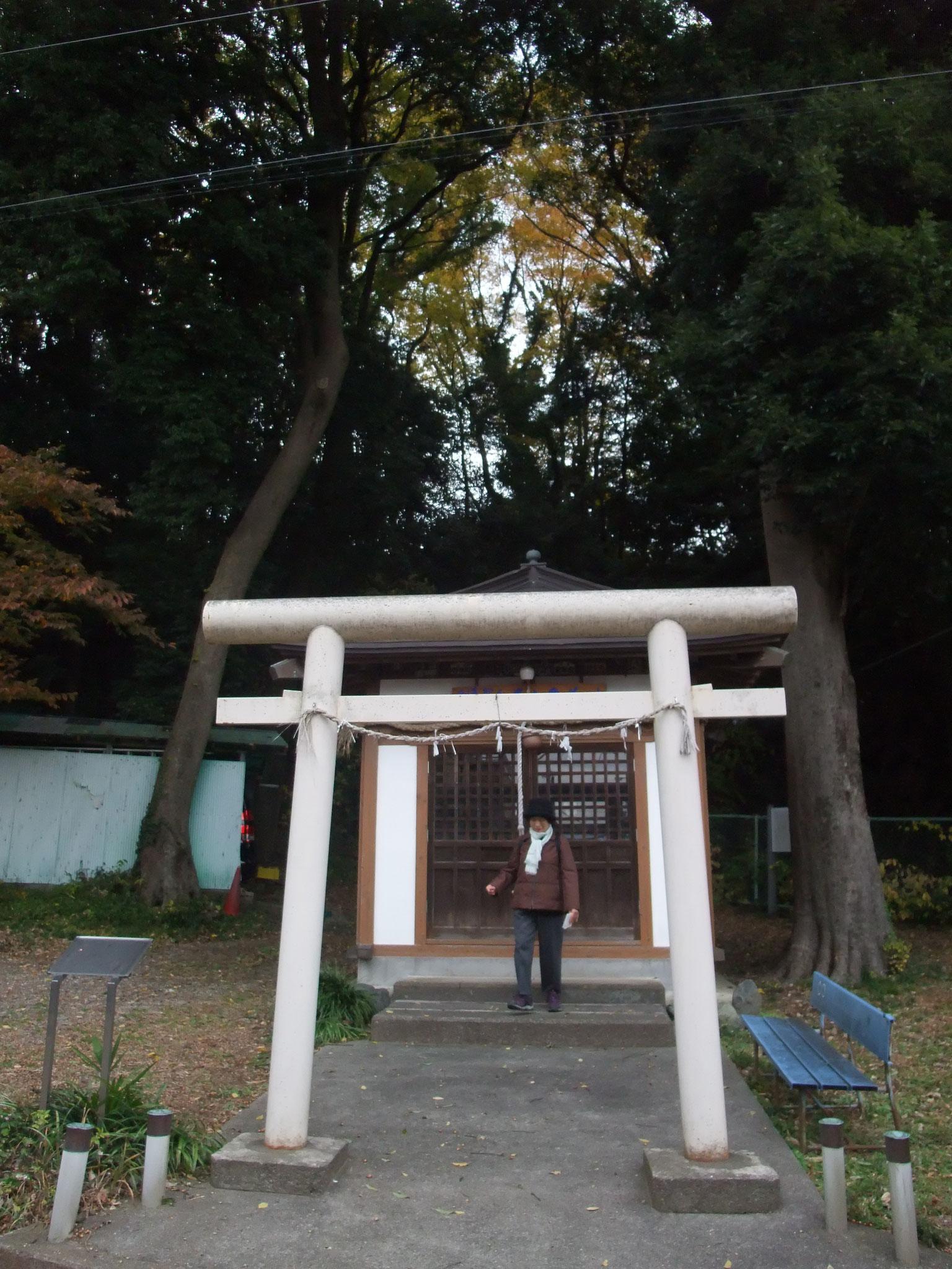 円教寺裏手の番神堂に番神水の水源が・・・