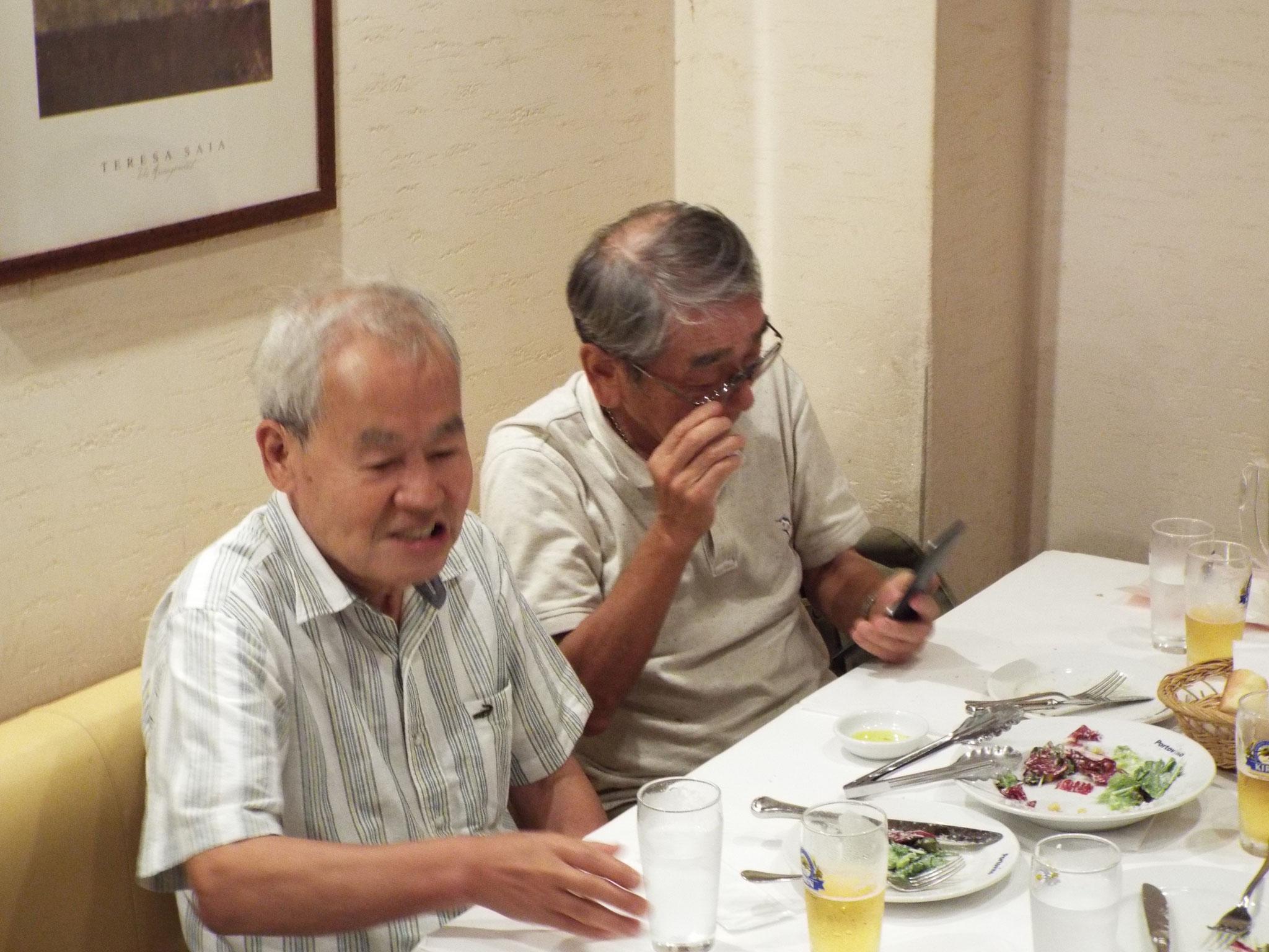ノルディック羽田さんと中村さん
