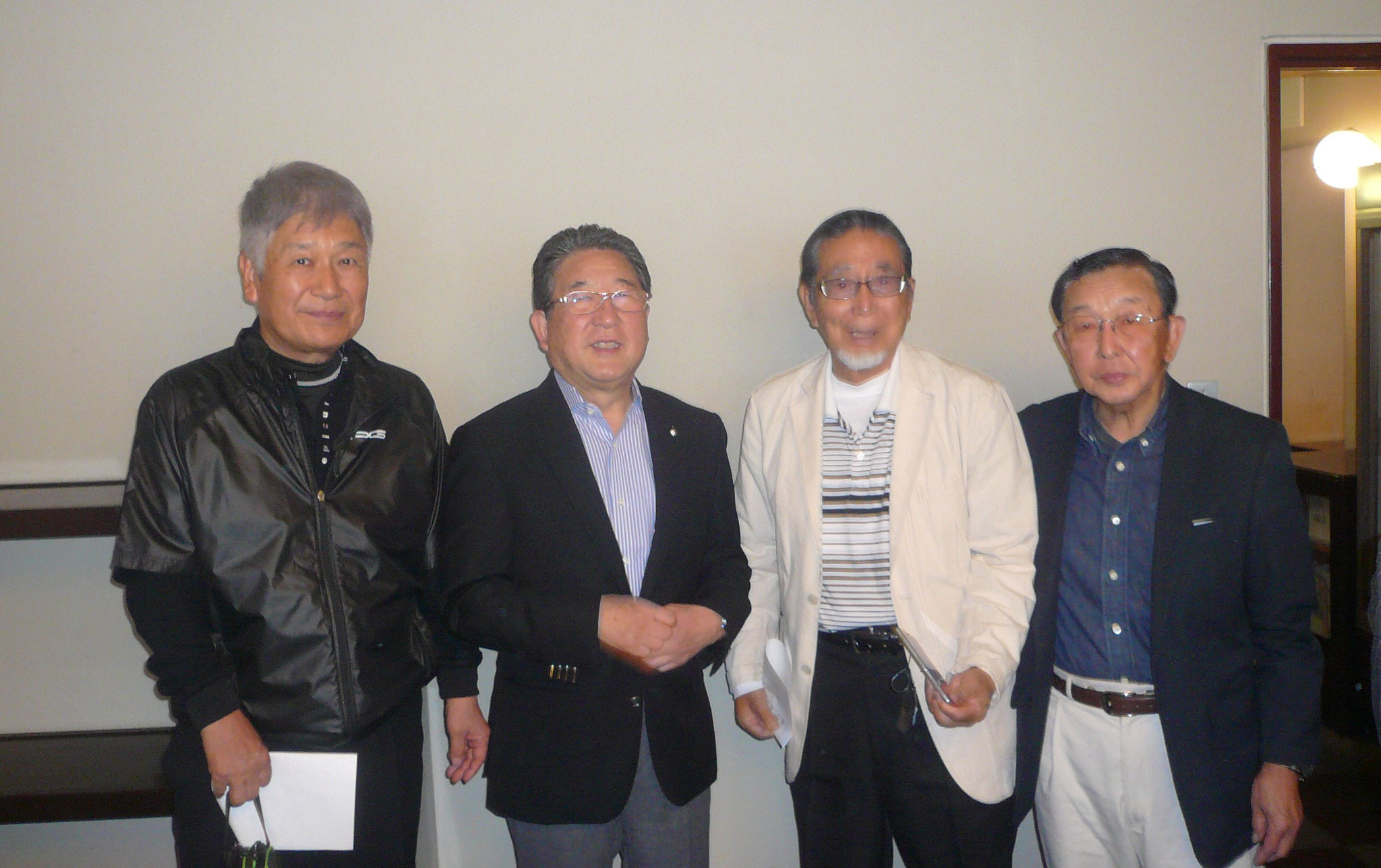 徳光さん旧友中村さんとアウト1組だったのに