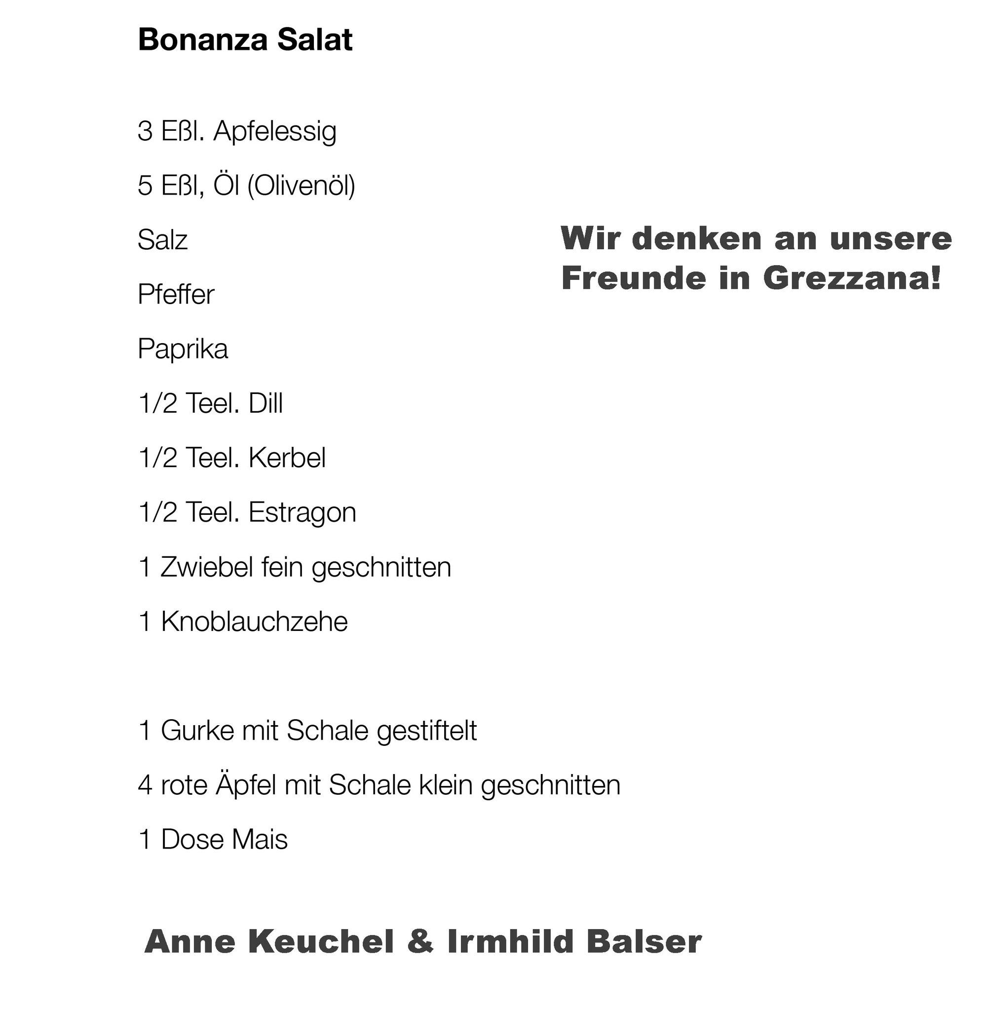 01b Salatrezept, A.Keuchel, I. Balser