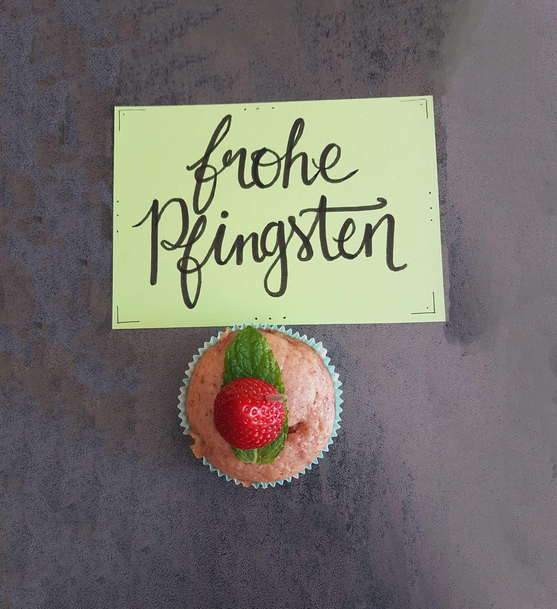 35 Erdbeermuffins, R. Schulte #tagdernachbarn