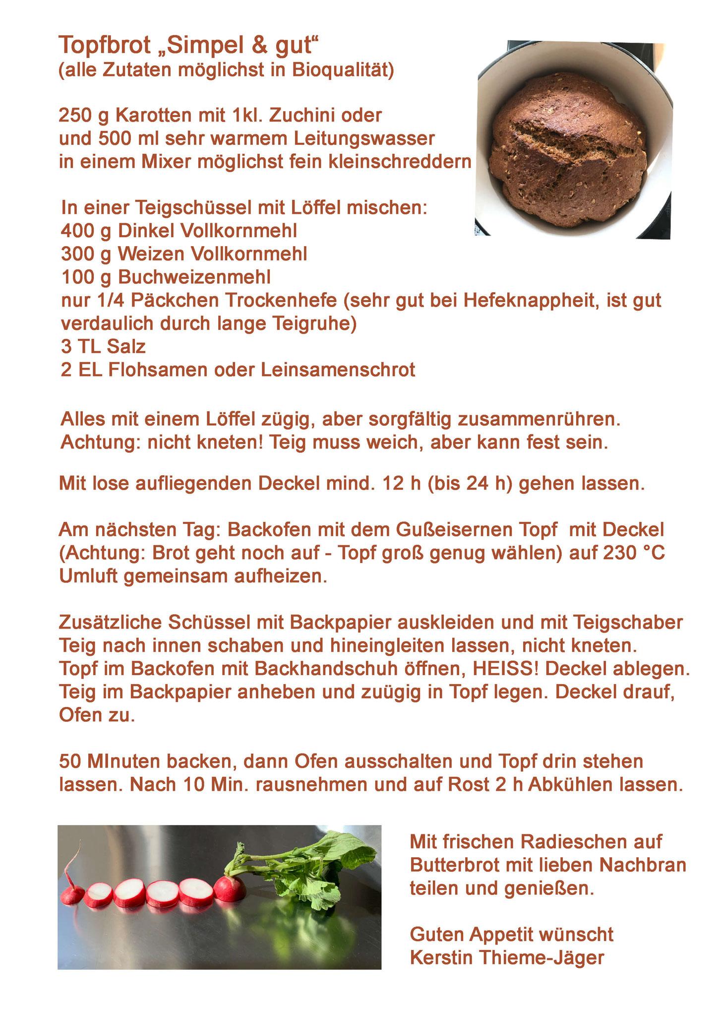17b Topfbrot-Rezept, Thieme-Jäger