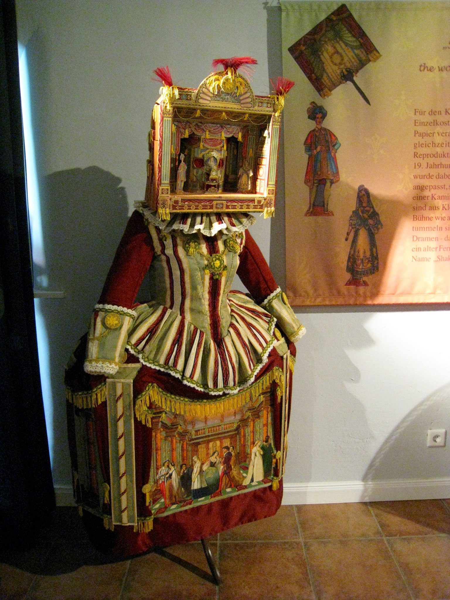 Kostümausstellung in der Werburg