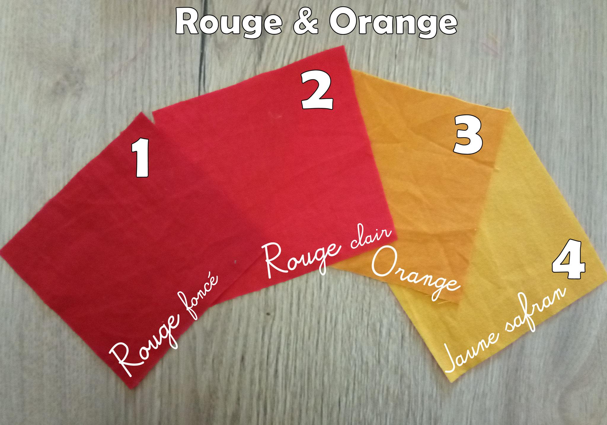 """Lingettes lavables """"Rouge"""""""