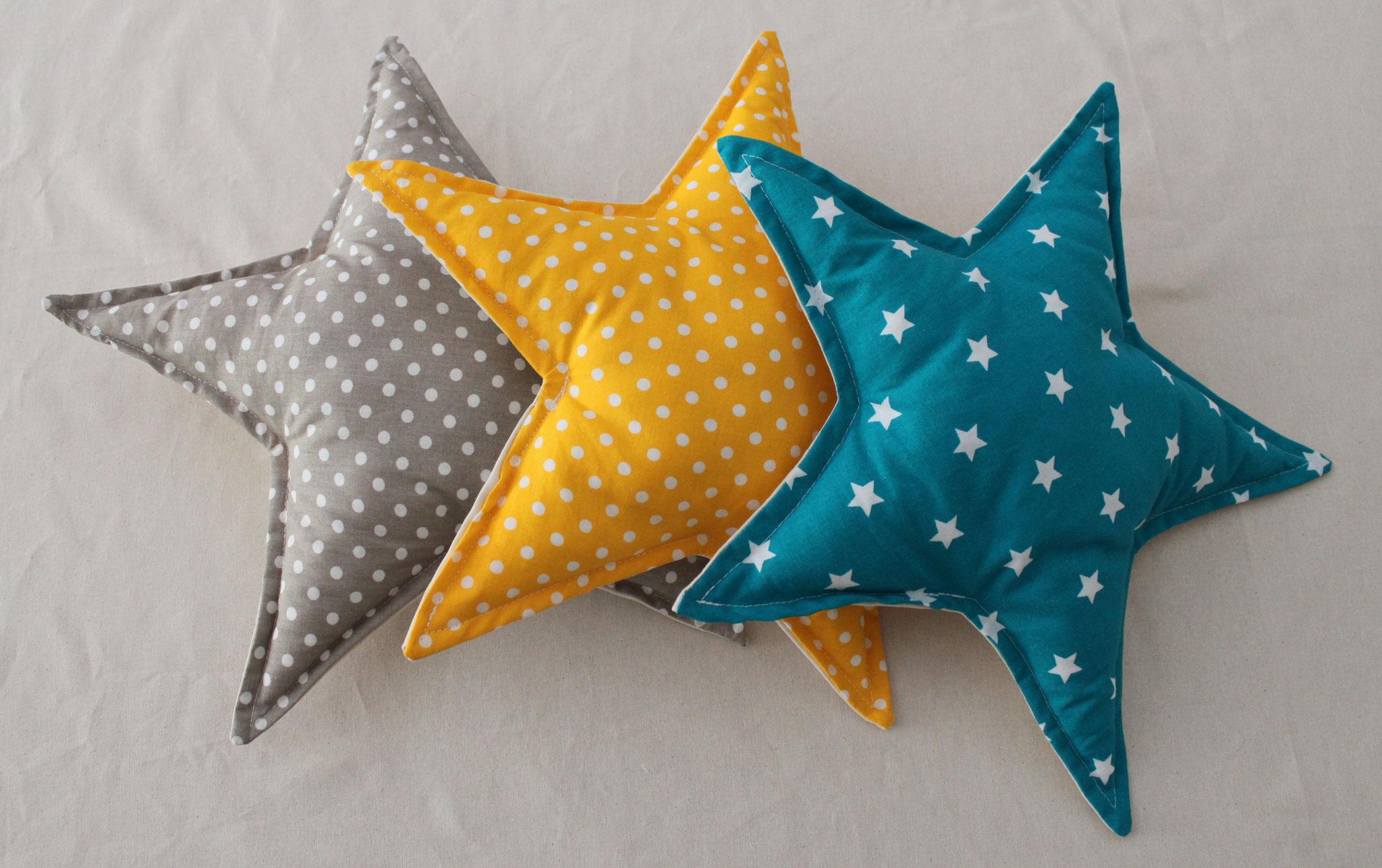 Coussins étoiles