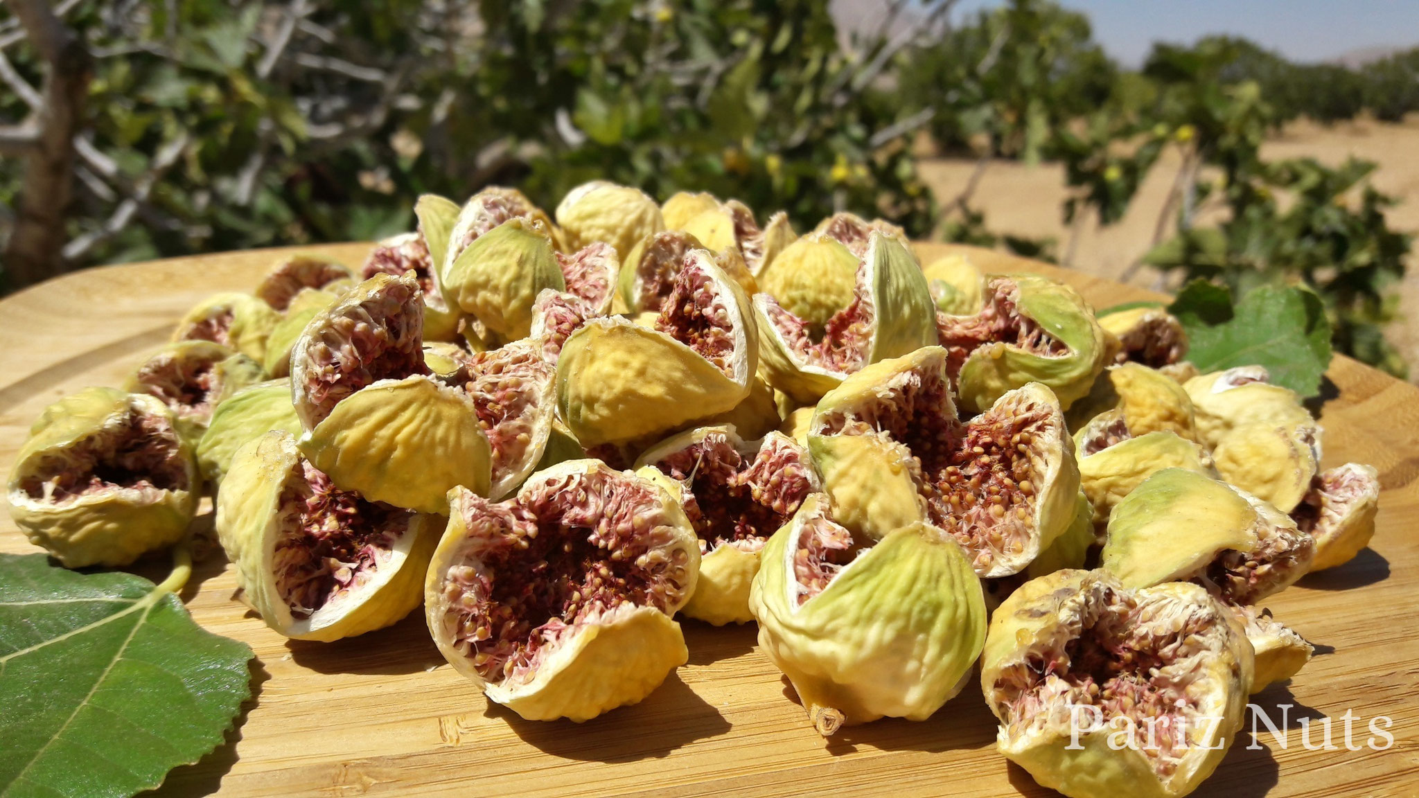 Iranian Dried Figs (open mouth AAA)