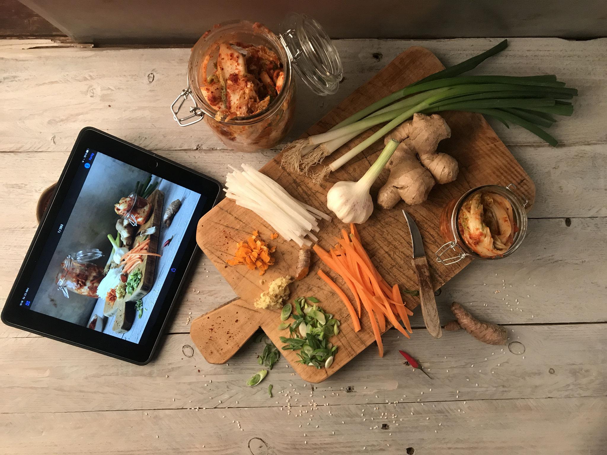 Kimchi Food-Fotografie Workshop 2019