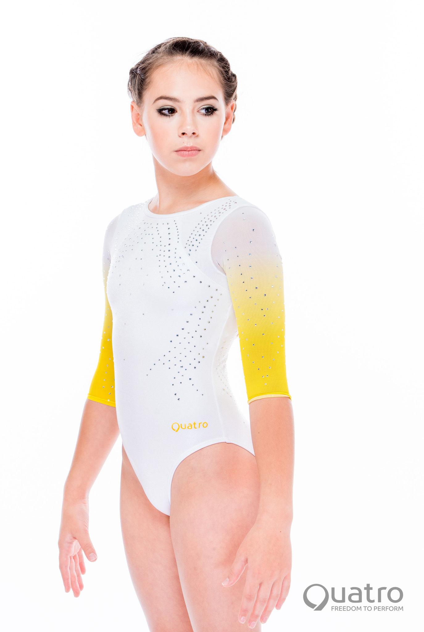 Quatro Bliss White and Yellow