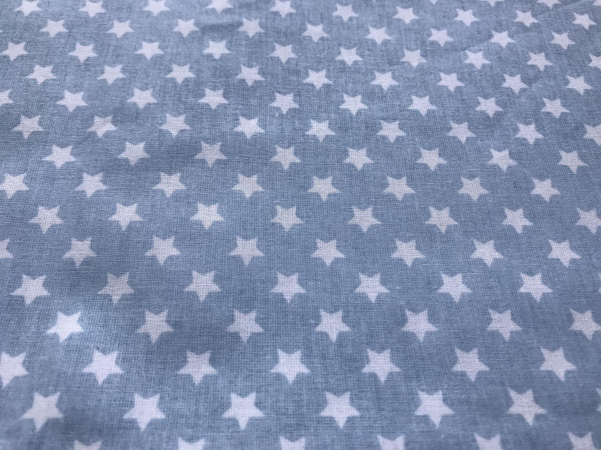 Sterne babyblau