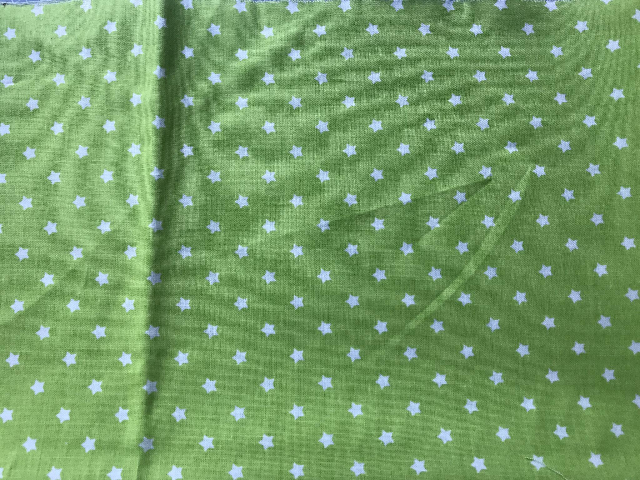 Sterne auf grün