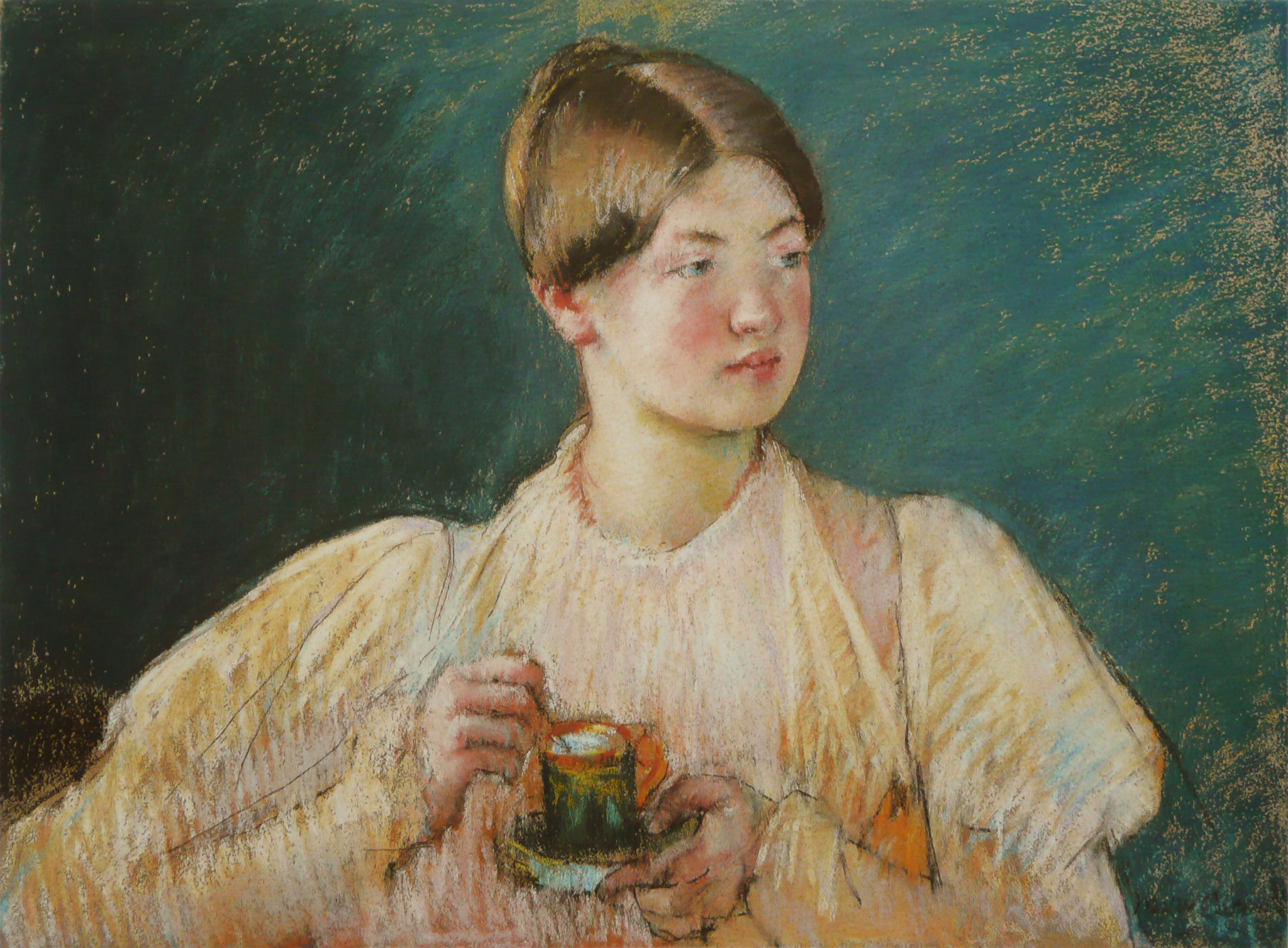 Mary Cassatt's La Tasse de The