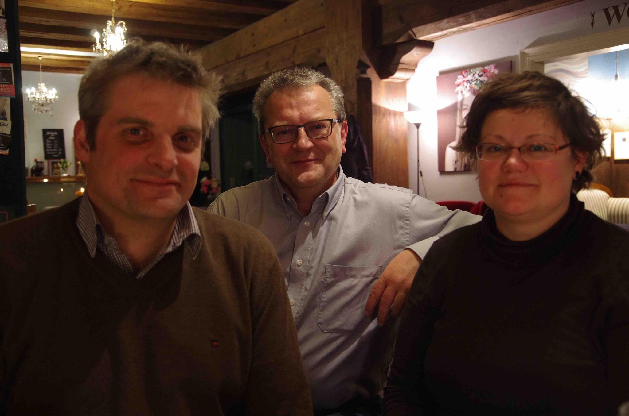 Klaus Nuißl, Anna Goldberg, Harald Hescht