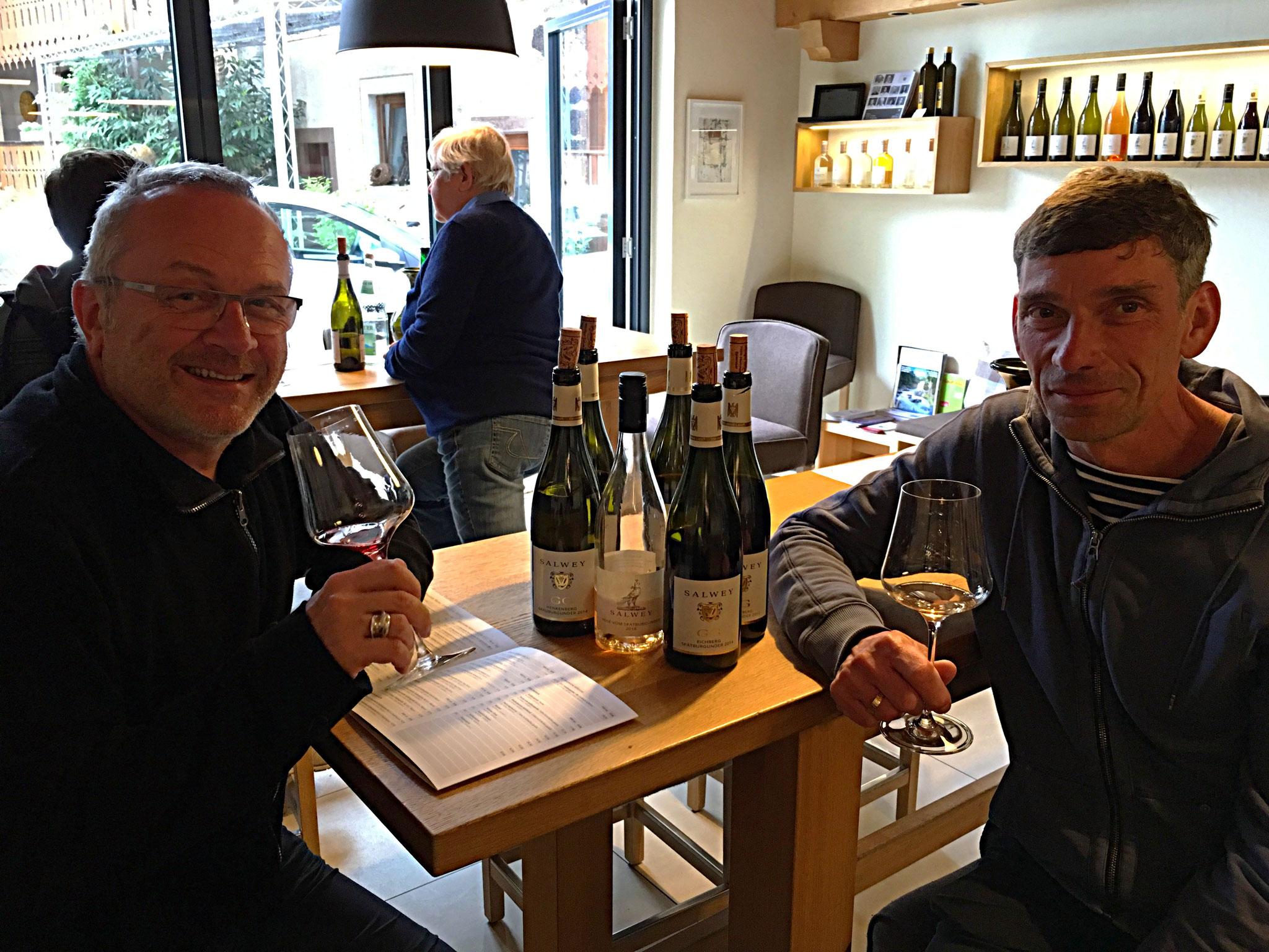 VDP Verkostung im Weingut Salway